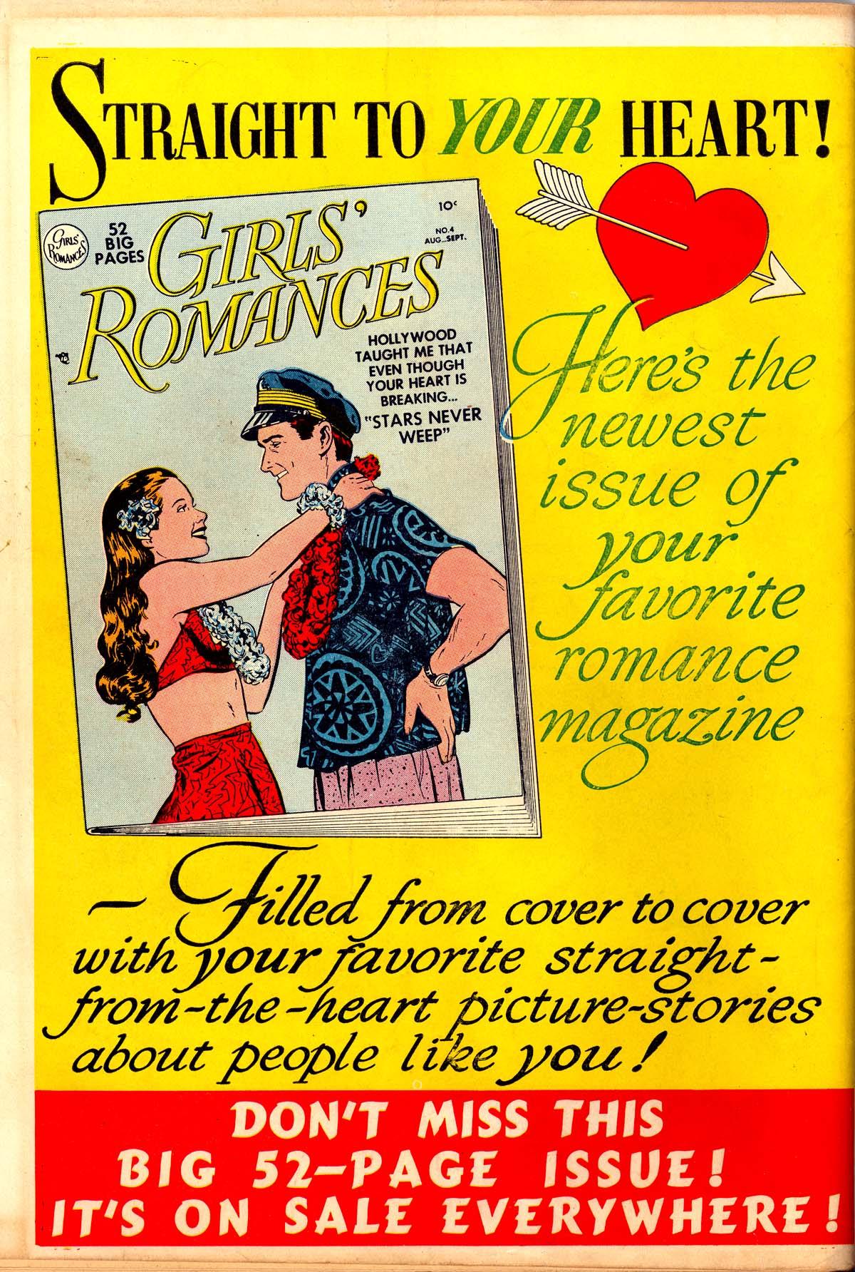 Read online Secret Hearts comic -  Issue #6 - 52