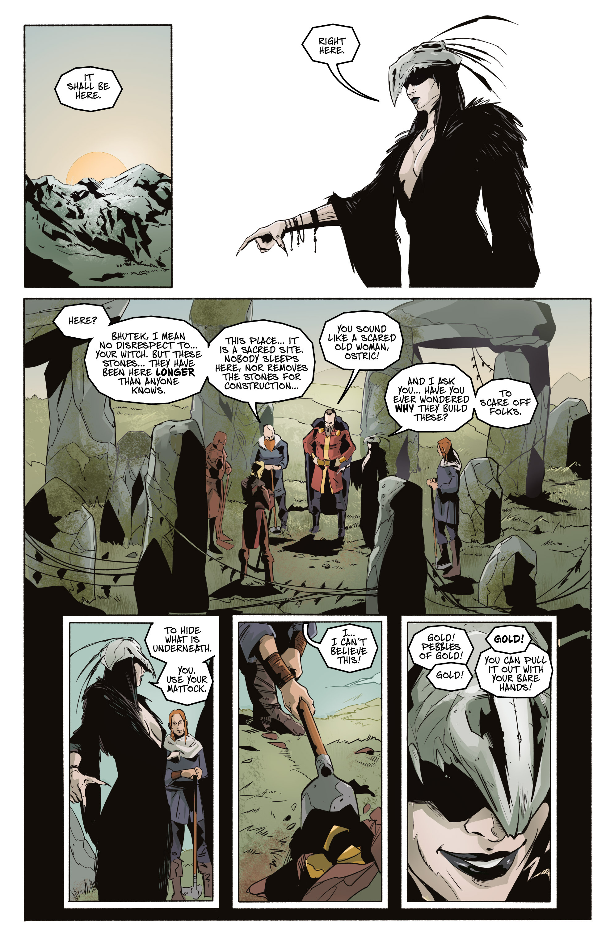 Read online Ghost Wolf comic -  Issue #3 - 15