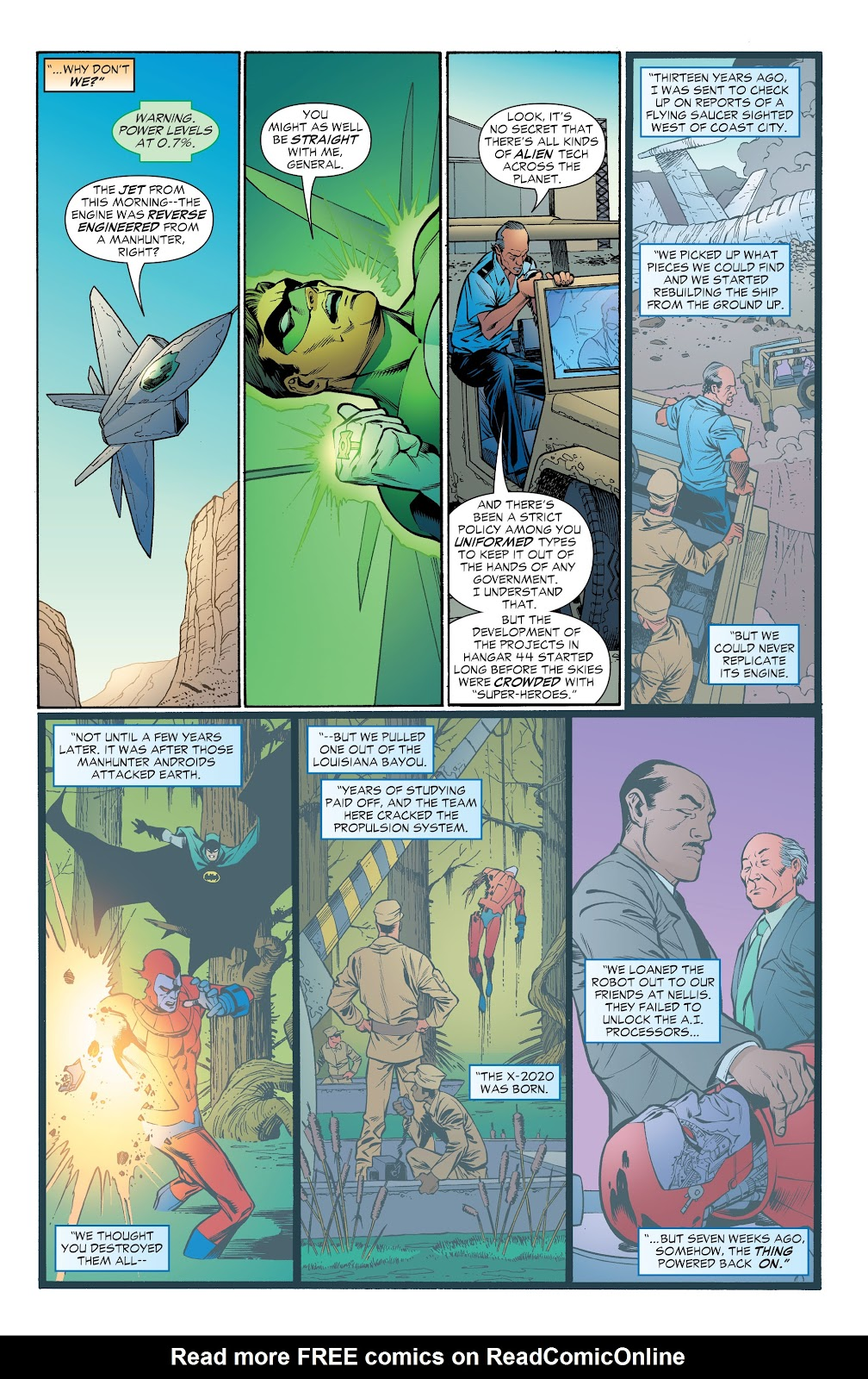 Read online Green Lantern by Geoff Johns comic -  Issue # TPB 1 (Part 4) - 55
