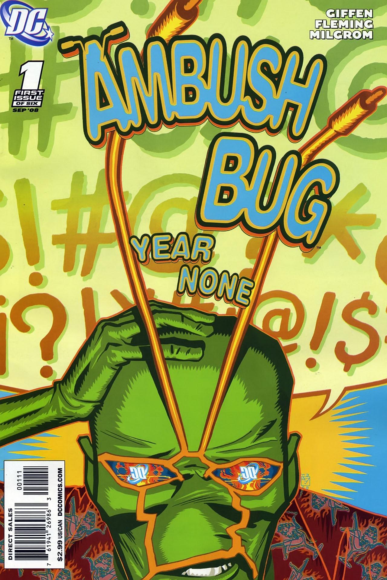 Ambush Bug: Year None 1 Page 1