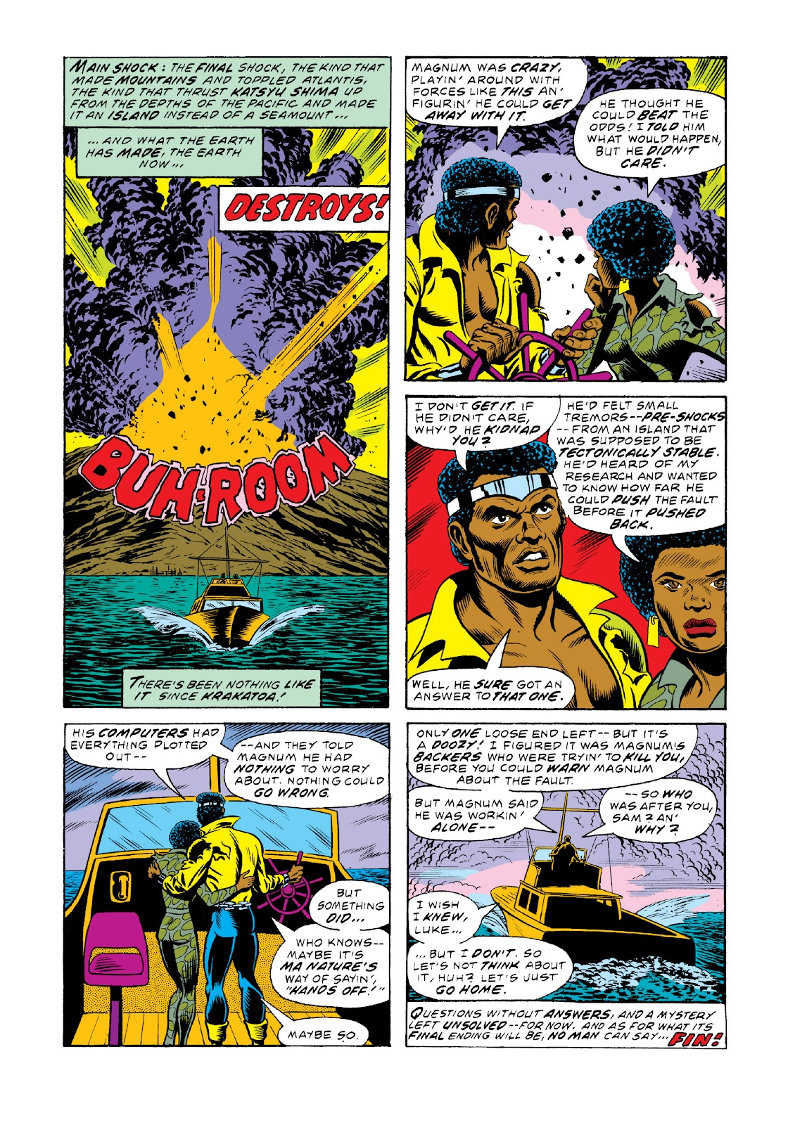 Read online Marvel Masterworks: Luke Cage, Power Man comic -  Issue # TPB 3 (Part 2) - 16