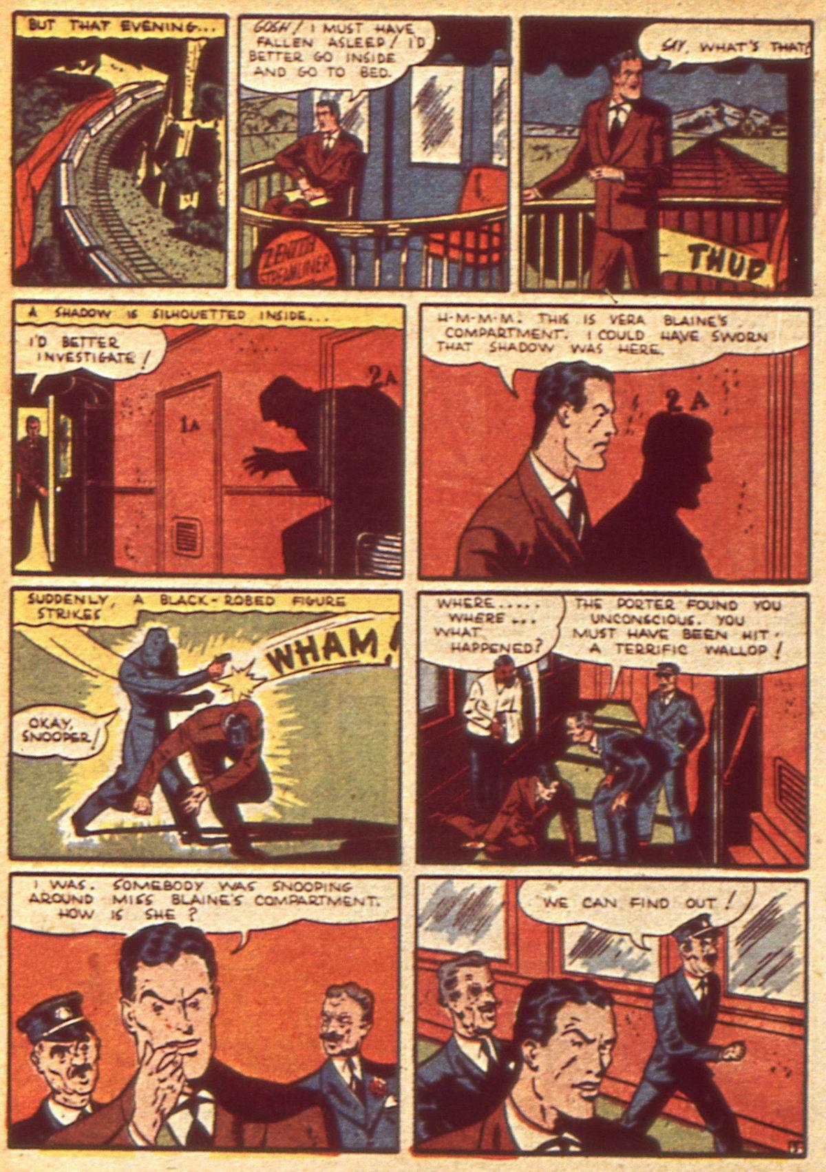 Read online Detective Comics (1937) comic -  Issue #49 - 34