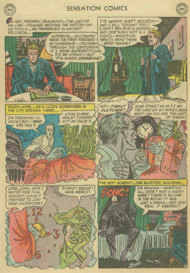 Read online Sensation (Mystery) Comics comic -  Issue #107 - 17