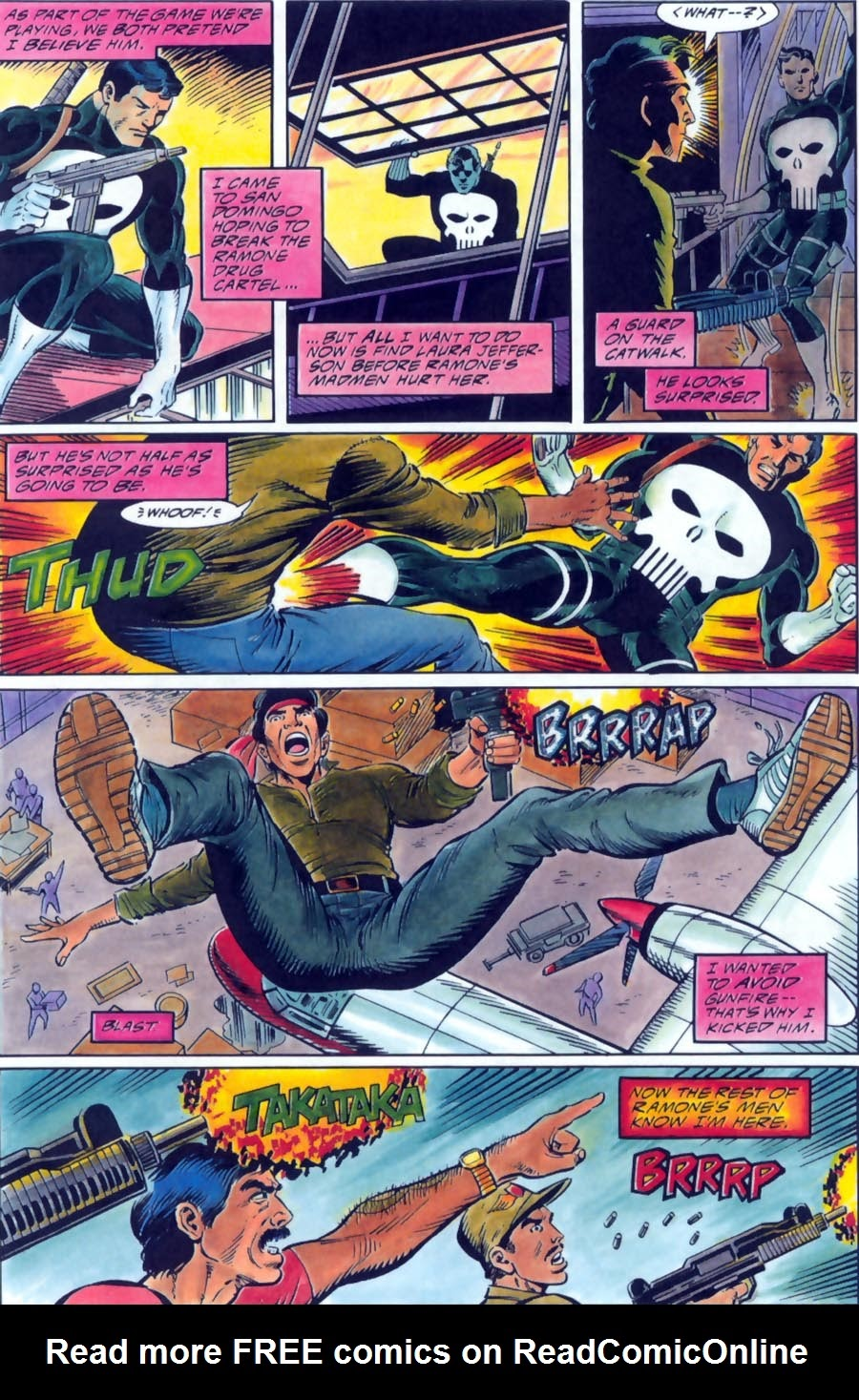 Read online Punisher Bloodlines comic -  Issue # Full - 30
