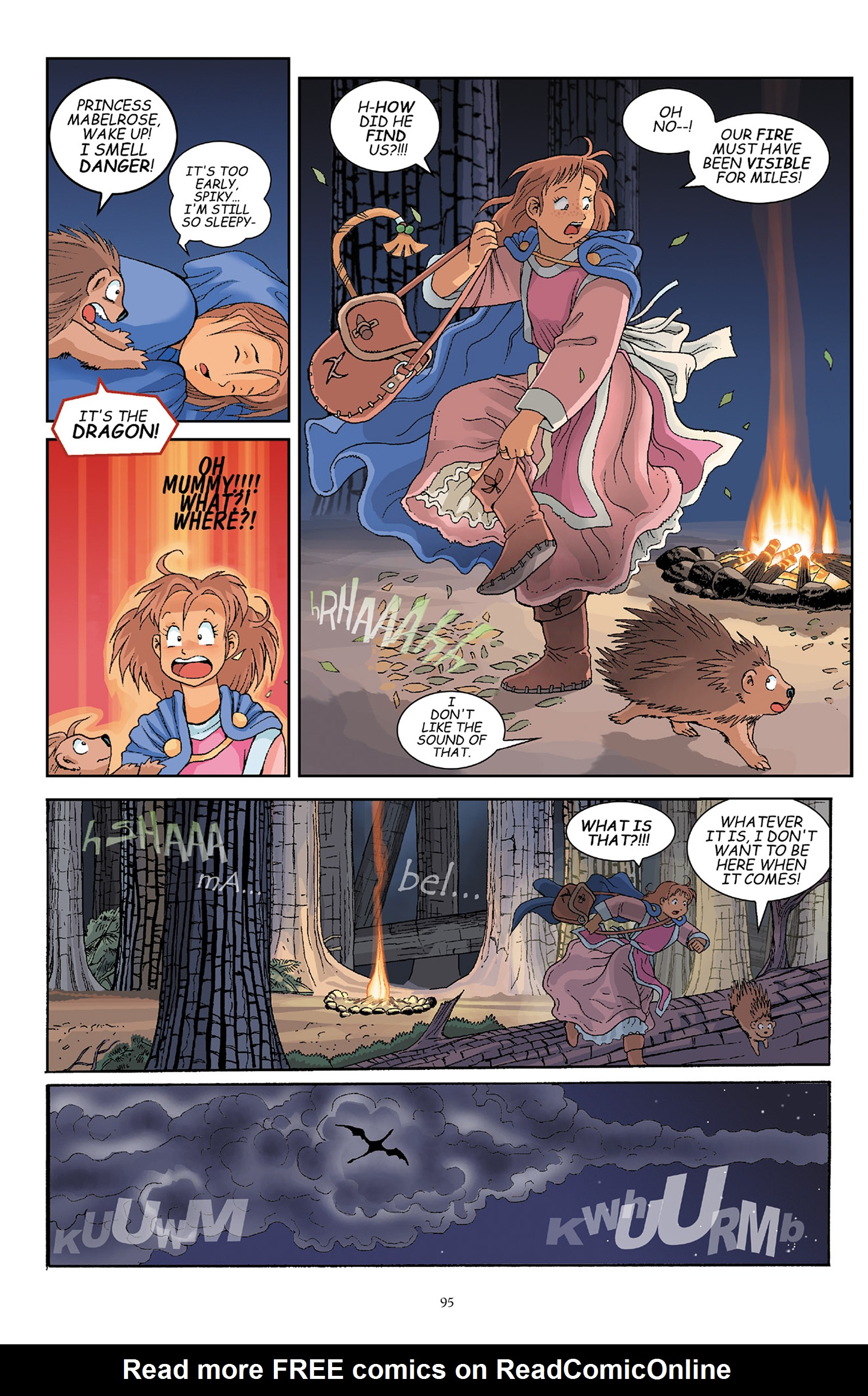 Read online Courageous Princess comic -  Issue # TPB 1 - 95