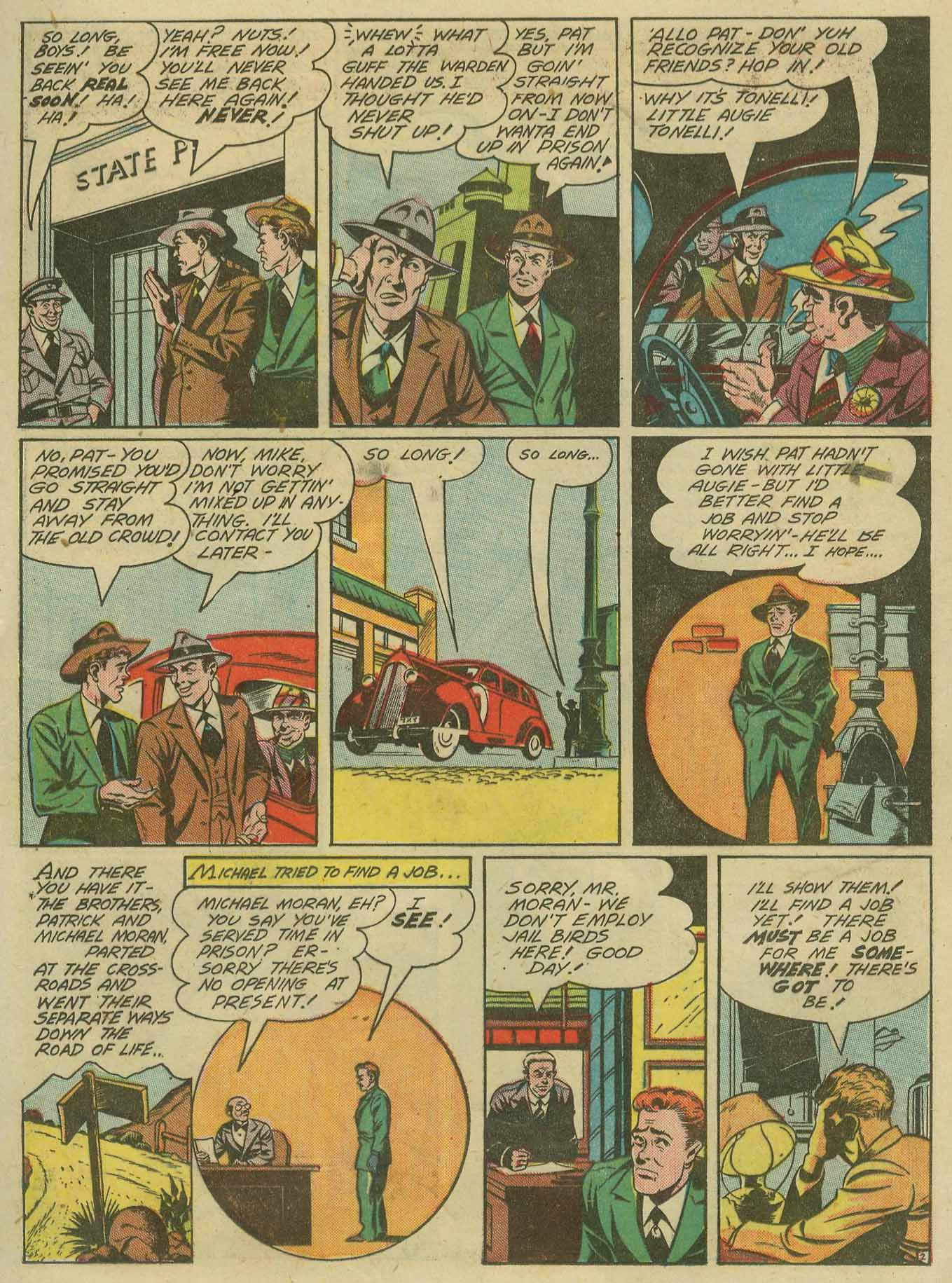Read online Sensation (Mystery) Comics comic -  Issue #28 - 34