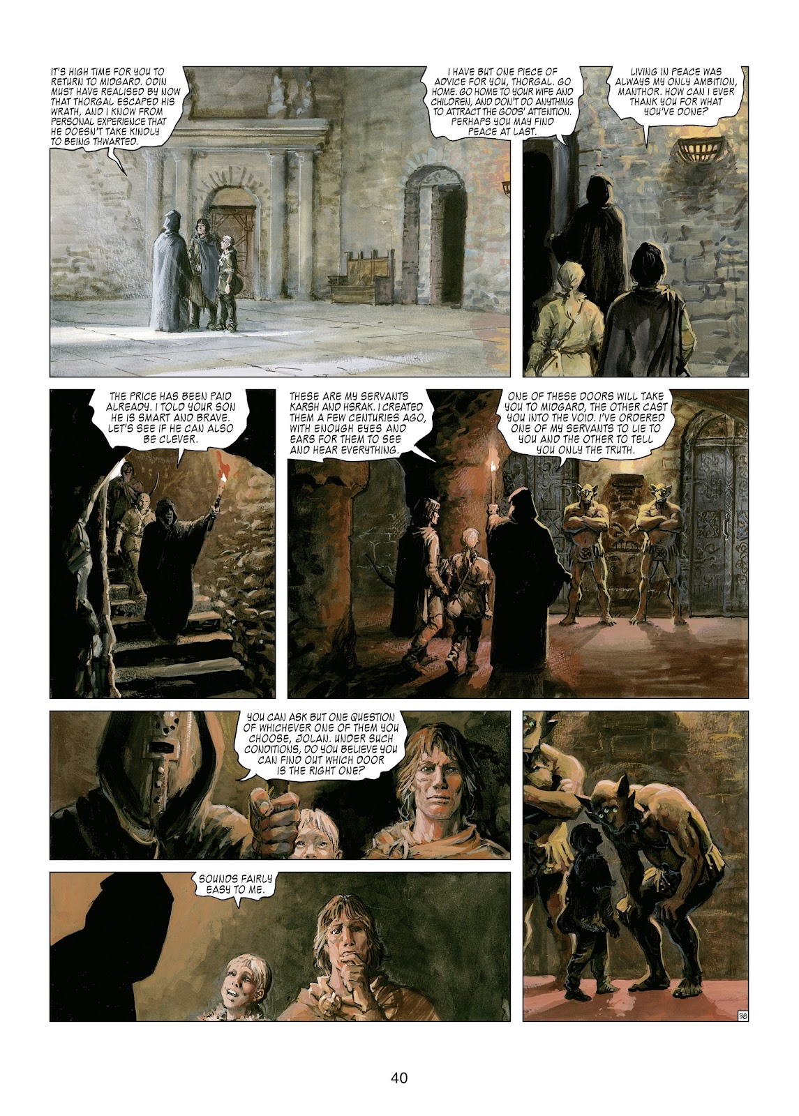Read online Thorgal comic -  Issue #21 - 42