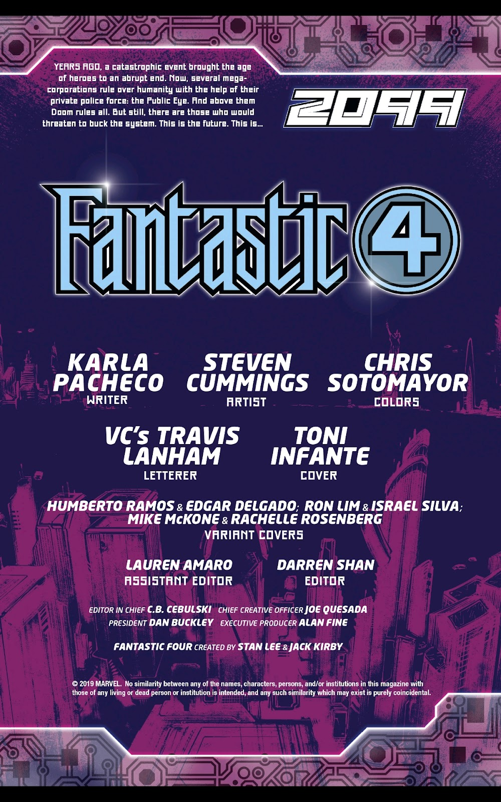 Read online Fantastic Four 2099 (2019) comic -  Issue # Full - 2