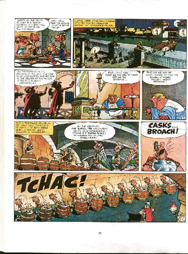 Read online Asterix comic -  Issue #8 - 19