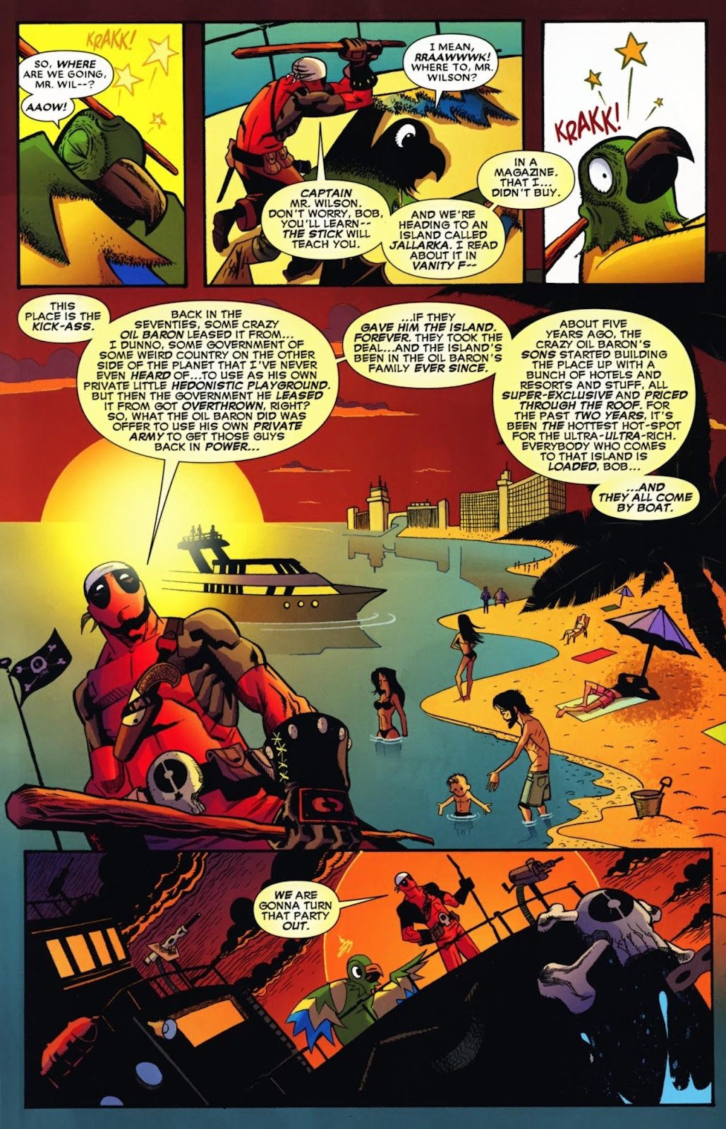 Read online Deadpool (2008) comic -  Issue #13 - 14