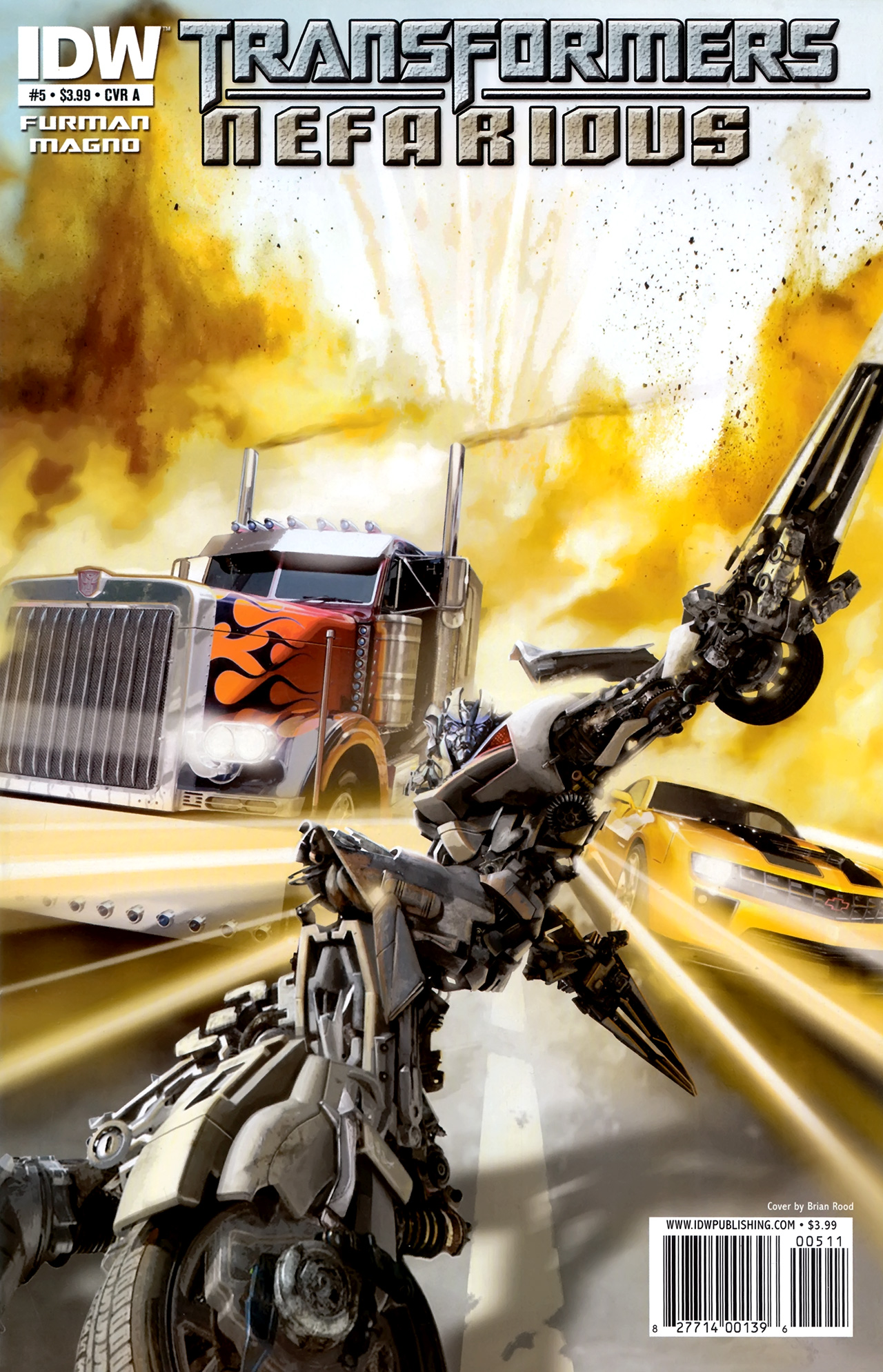 Read online Transformers: Nefarious comic -  Issue #5 - 1