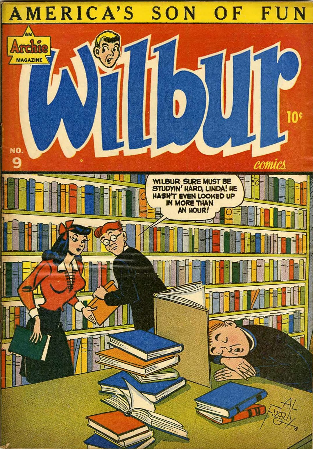 Wilbur Comics 9 Page 1