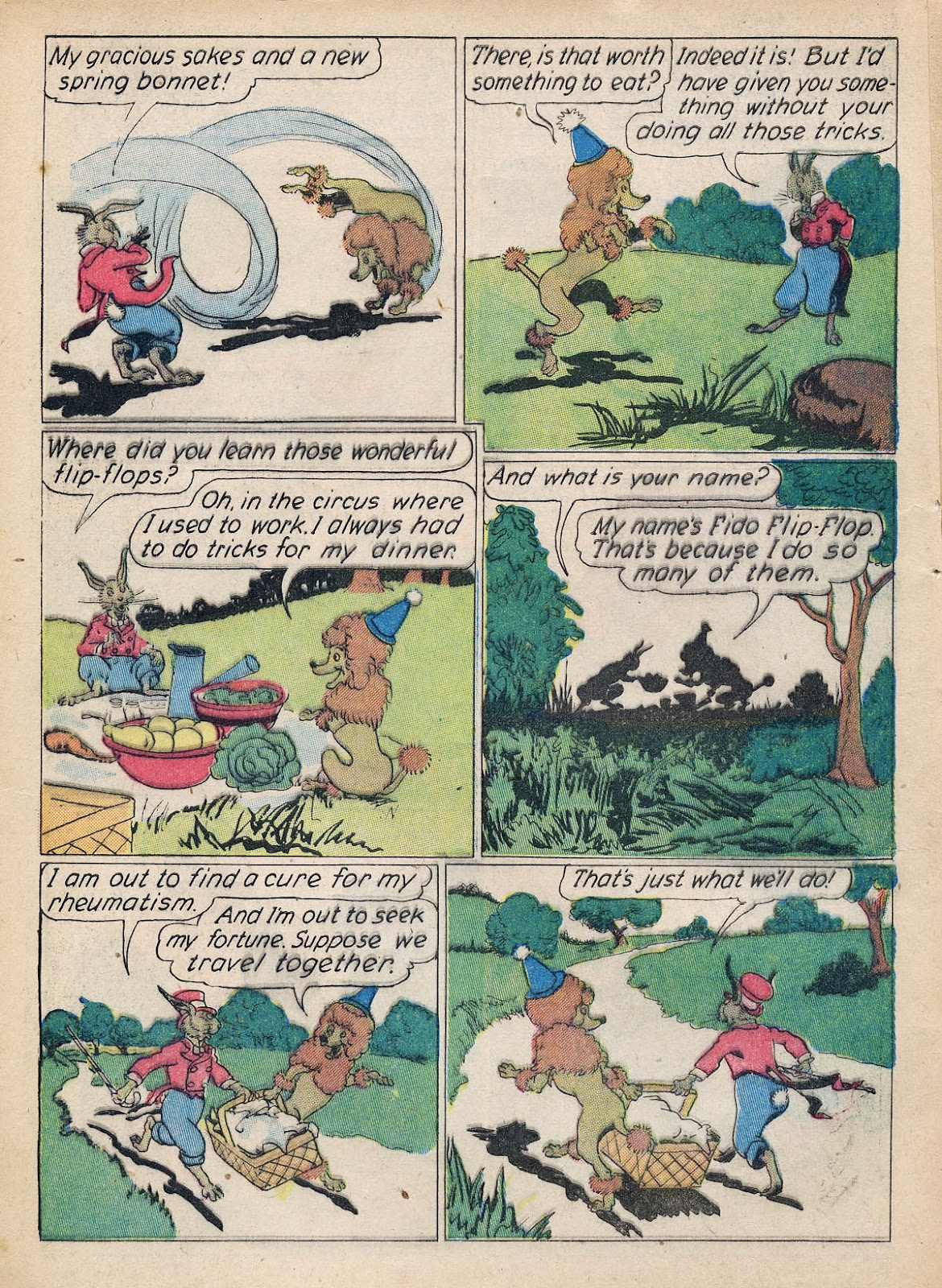 Read online Animal Comics comic -  Issue #7 - 6