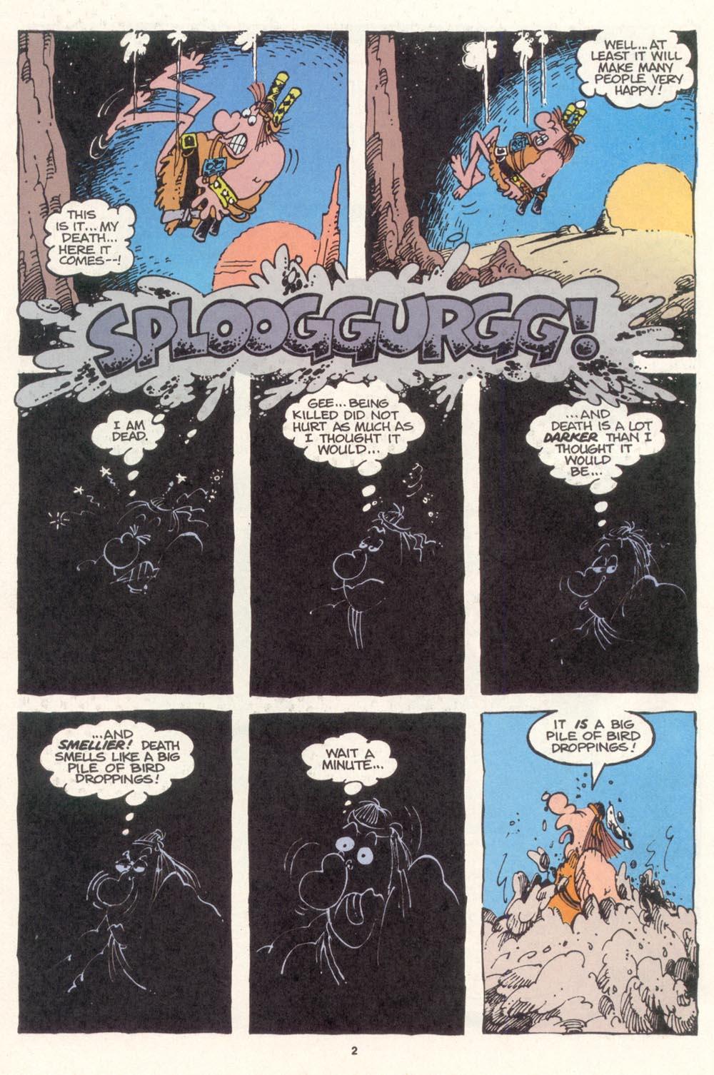 Read online Sergio Aragonés Groo the Wanderer comic -  Issue #115 - 4