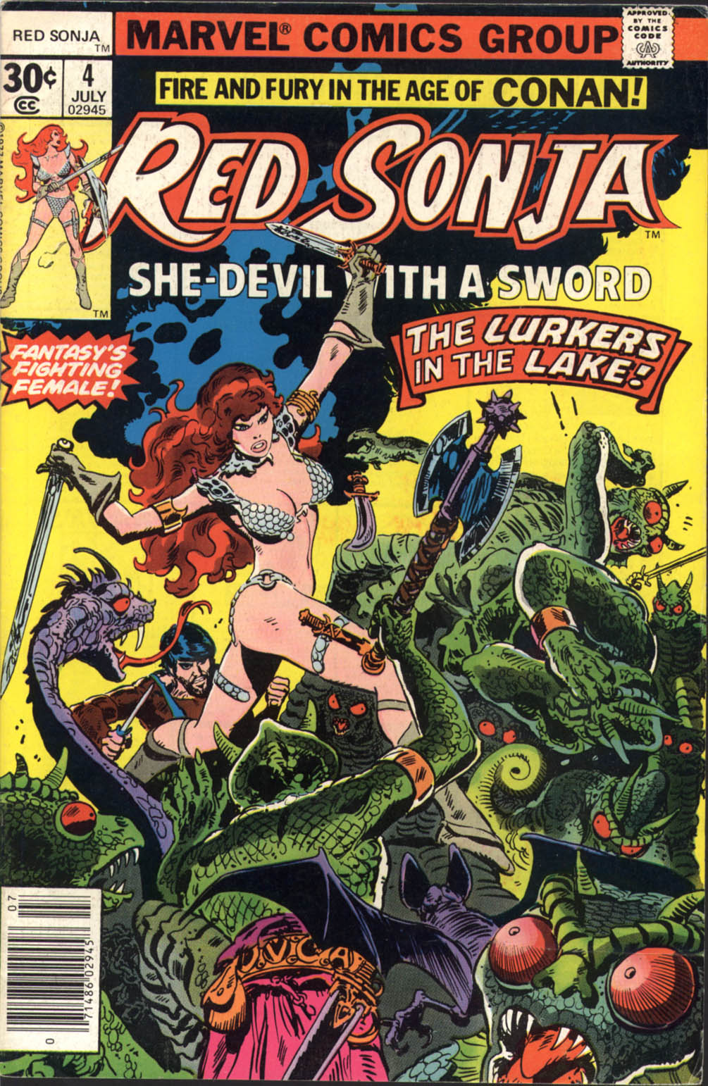 Red Sonja (1977) issue 4 - Page 1