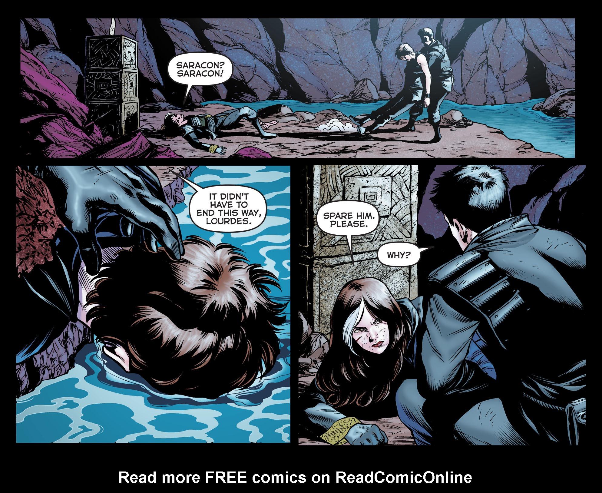 Read online Arrow: The Dark Archer comic -  Issue #12 - 6