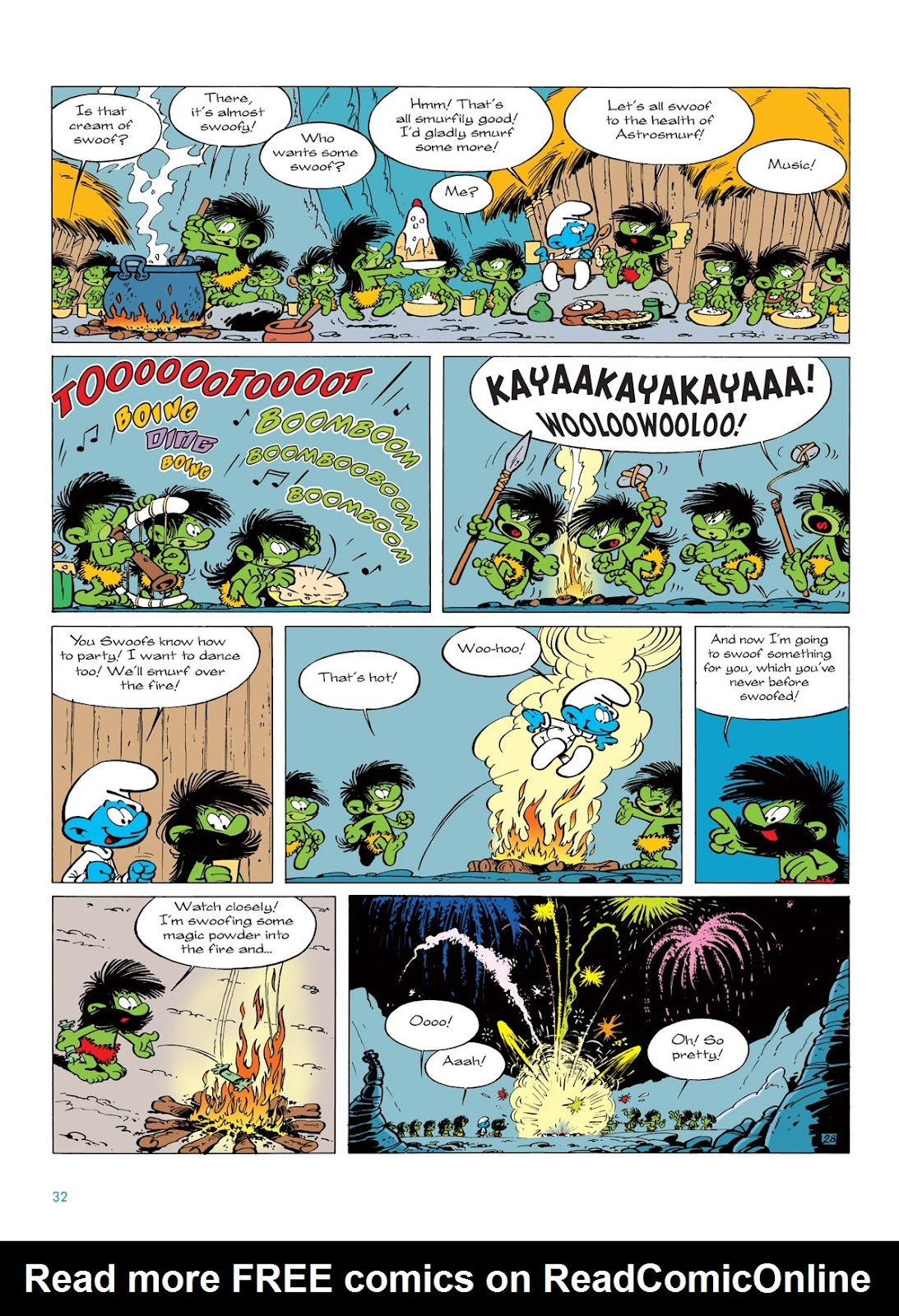 Read online The Smurfs comic -  Issue #7 - 32