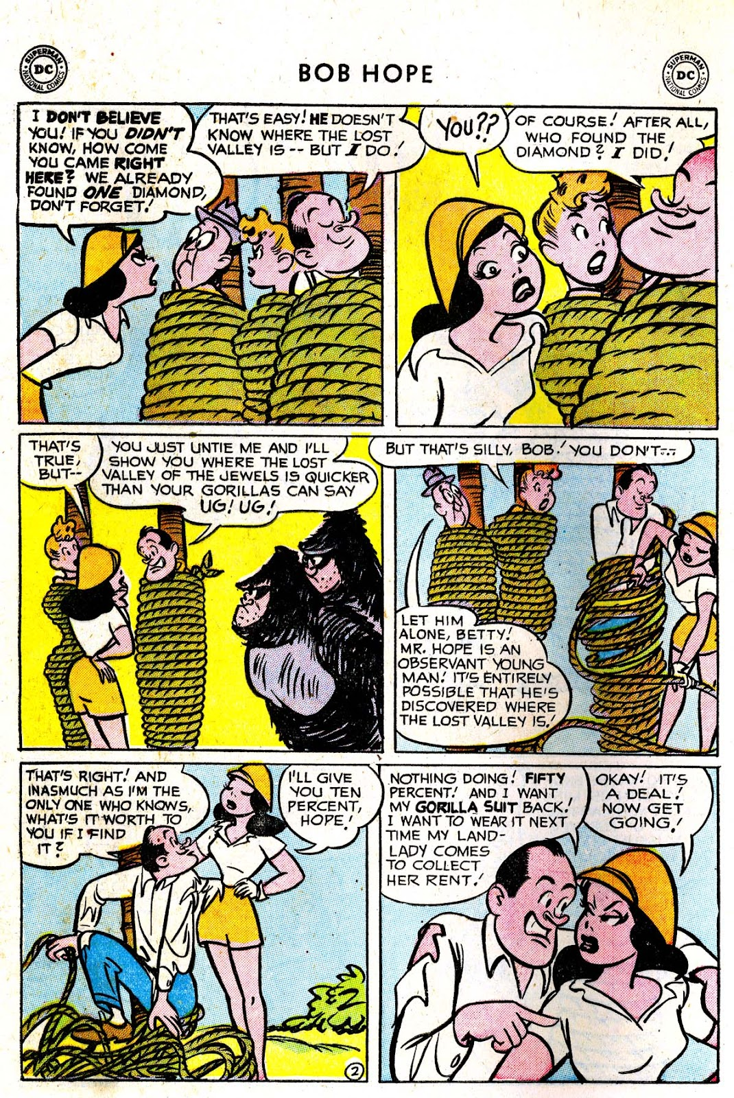 The Adventures of Bob Hope issue 33 - Page 28