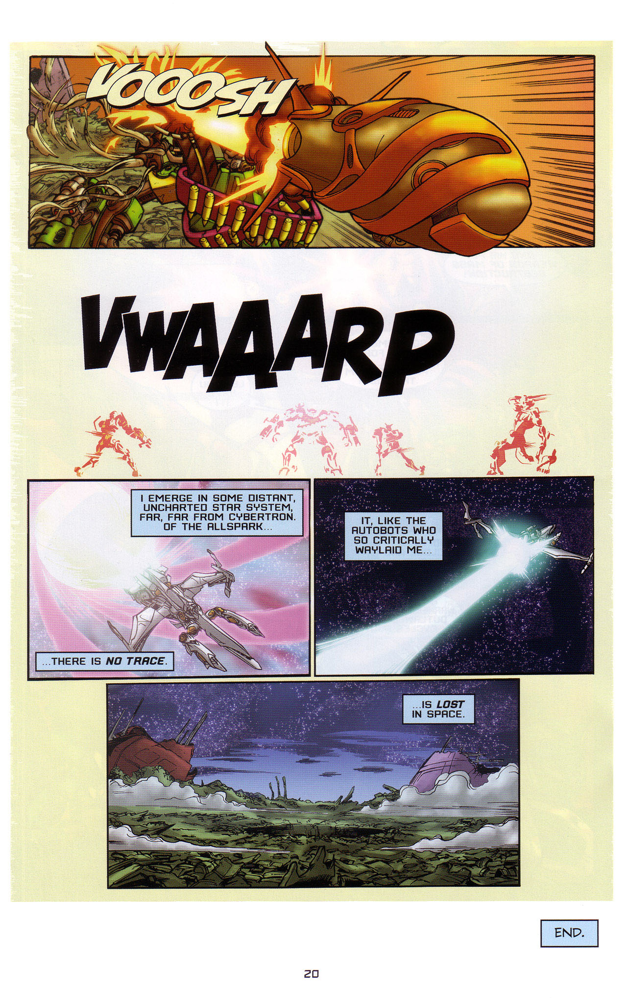 Read online Transformers: Saga of the Allspark comic -  Issue #1 - 21