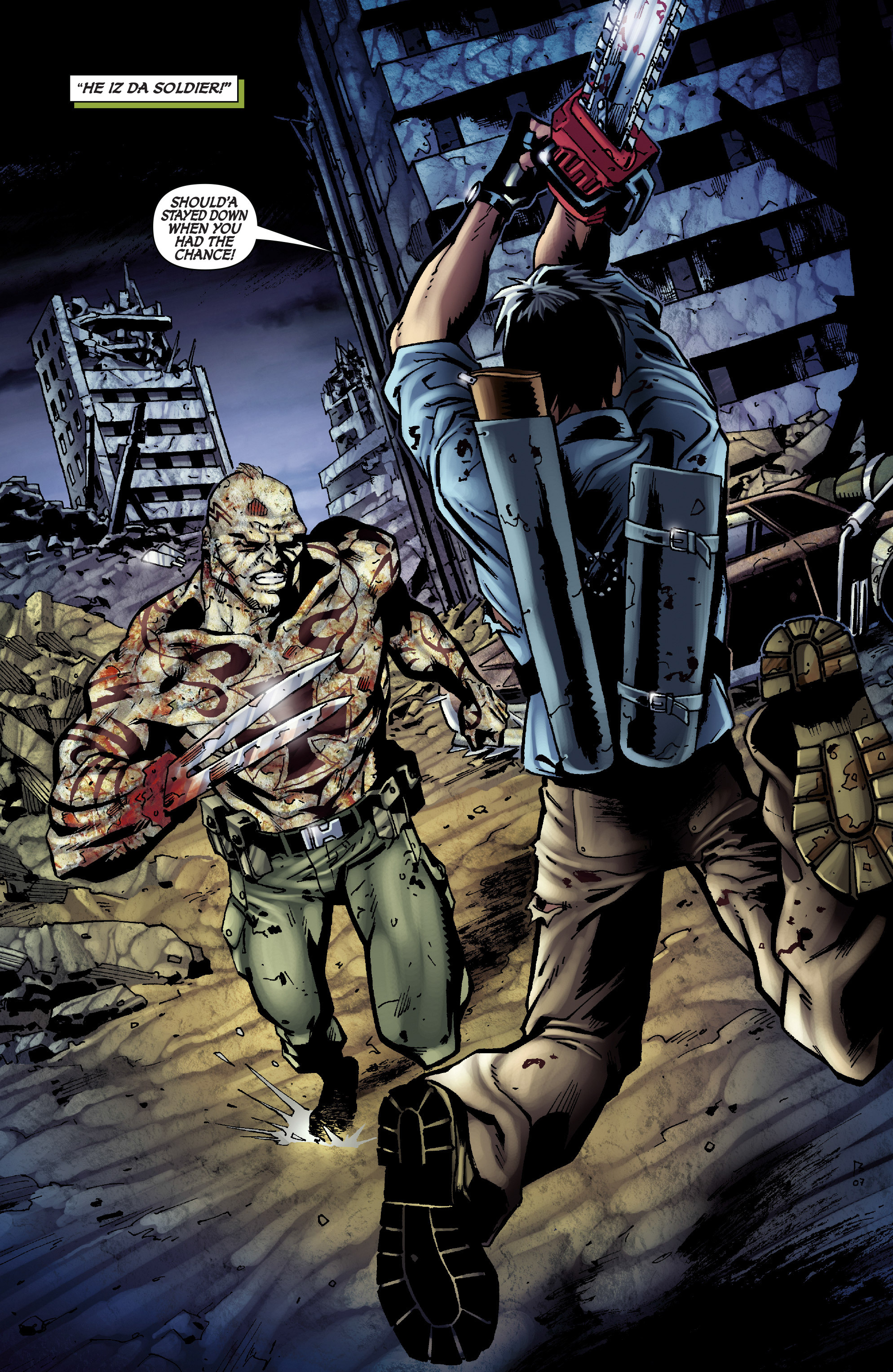 Read online Army of Darkness: From the Ashes comic -  Issue #Army of Darkness: From the Ashes TPB - 75