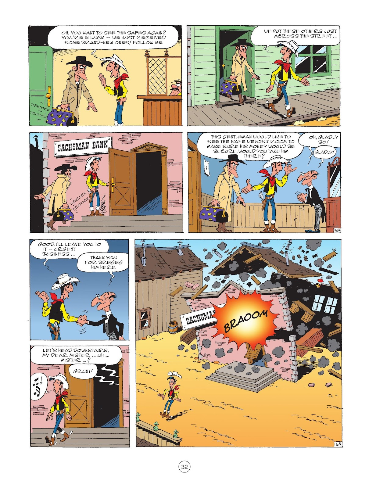 A Lucky Luke Adventure issue 72 - Page 34