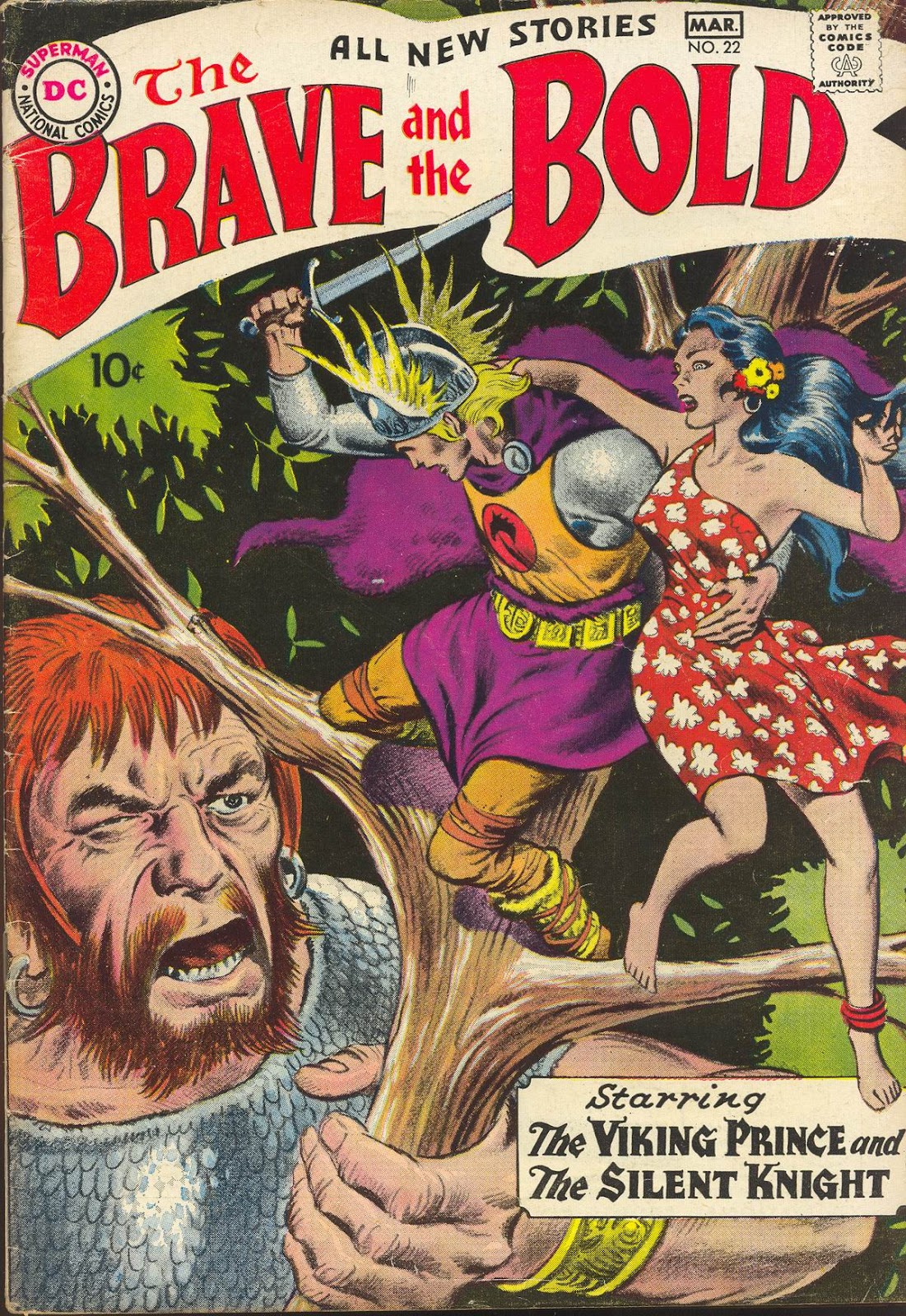 The Brave and the Bold (1955) issue 22 - Page 1