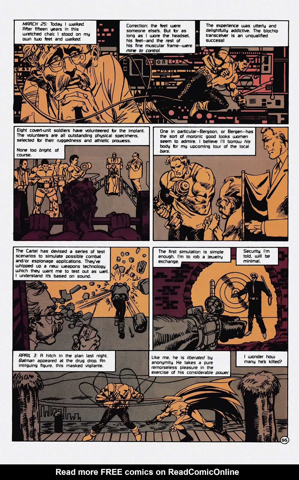 Read online Detective Comics (1937) comic -  Issue # _TPB Batman - Blind Justice (Part 1) - 60