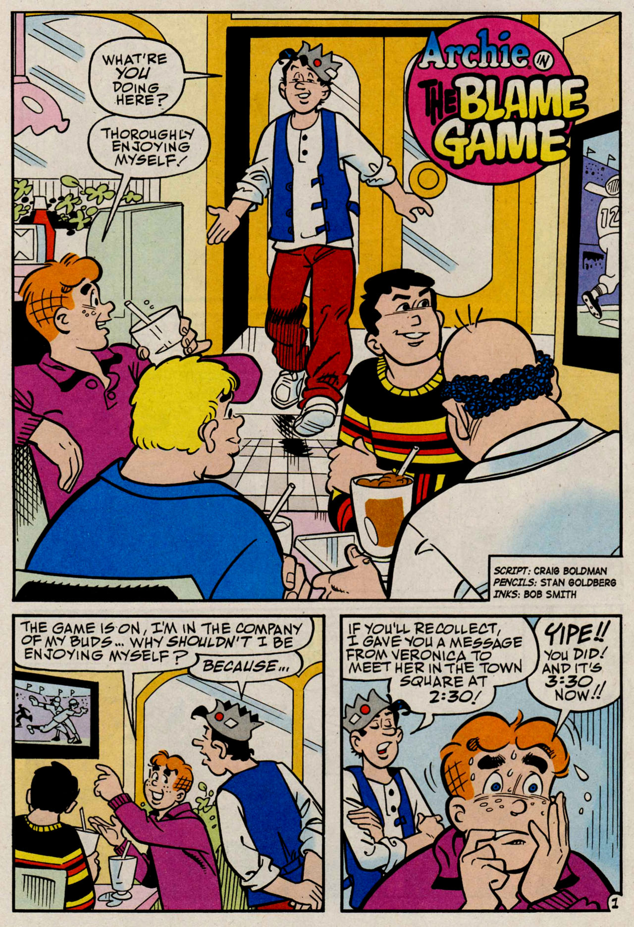 Read online Archie (1960) comic -  Issue #584 - 19
