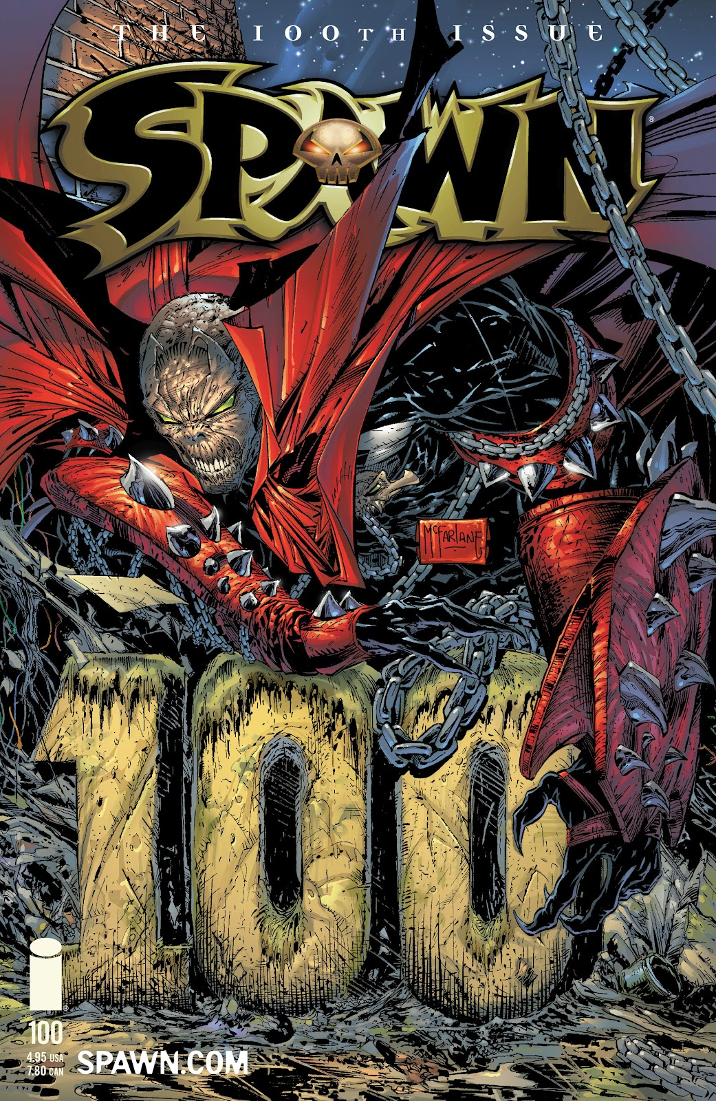 Spawn 100 Page 1