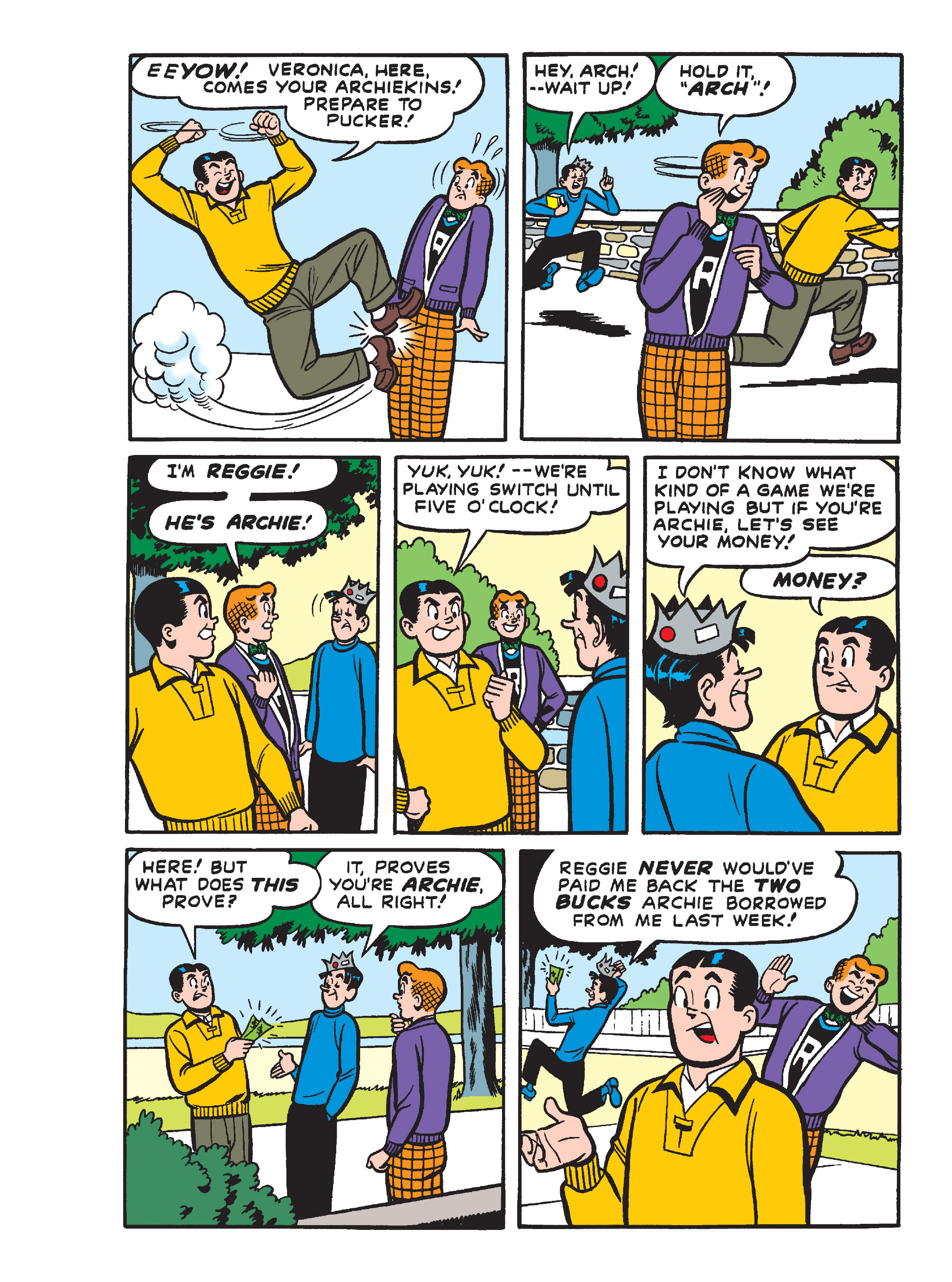 Read online Archie's Funhouse Double Digest comic -  Issue #15 - 138