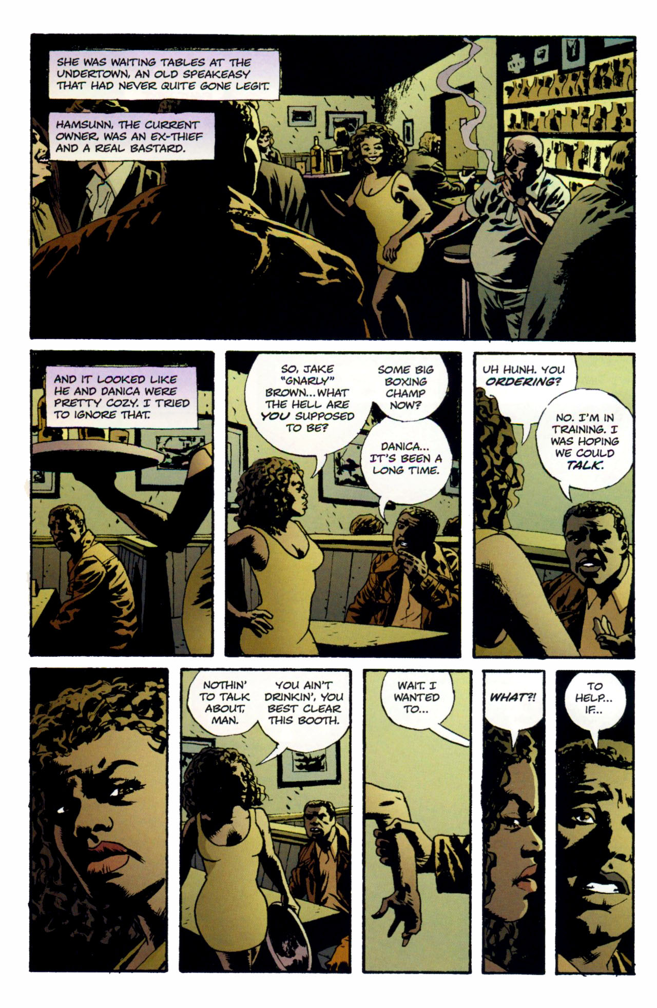 Read online Criminal (2008) comic -  Issue #1 - 13