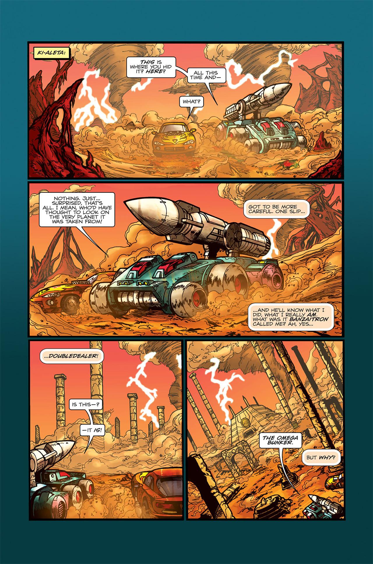 Read online Transformers Spotlight: Doubledealer comic -  Issue # Full - 12