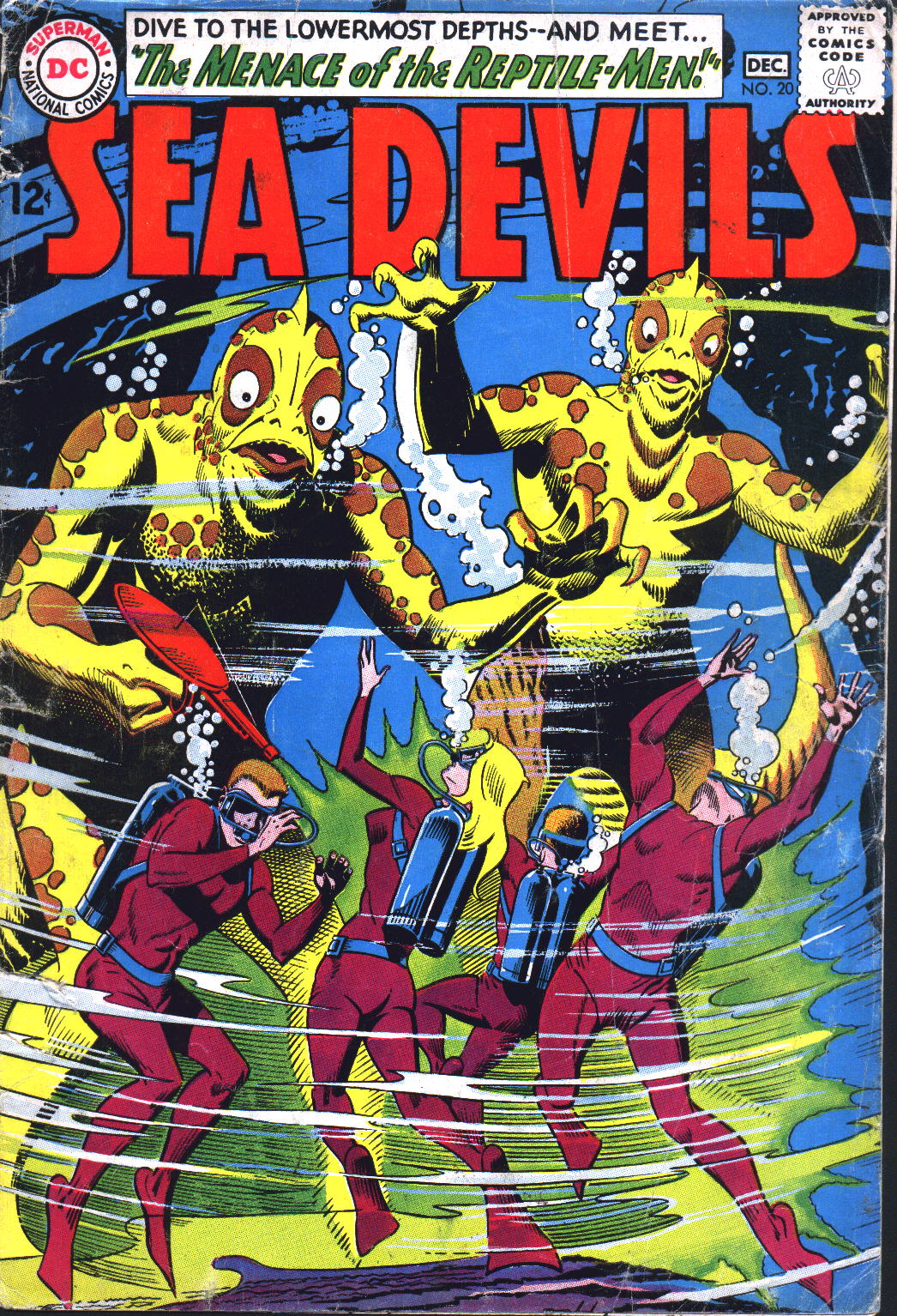 Read online Sea Devils comic -  Issue #20 - 1