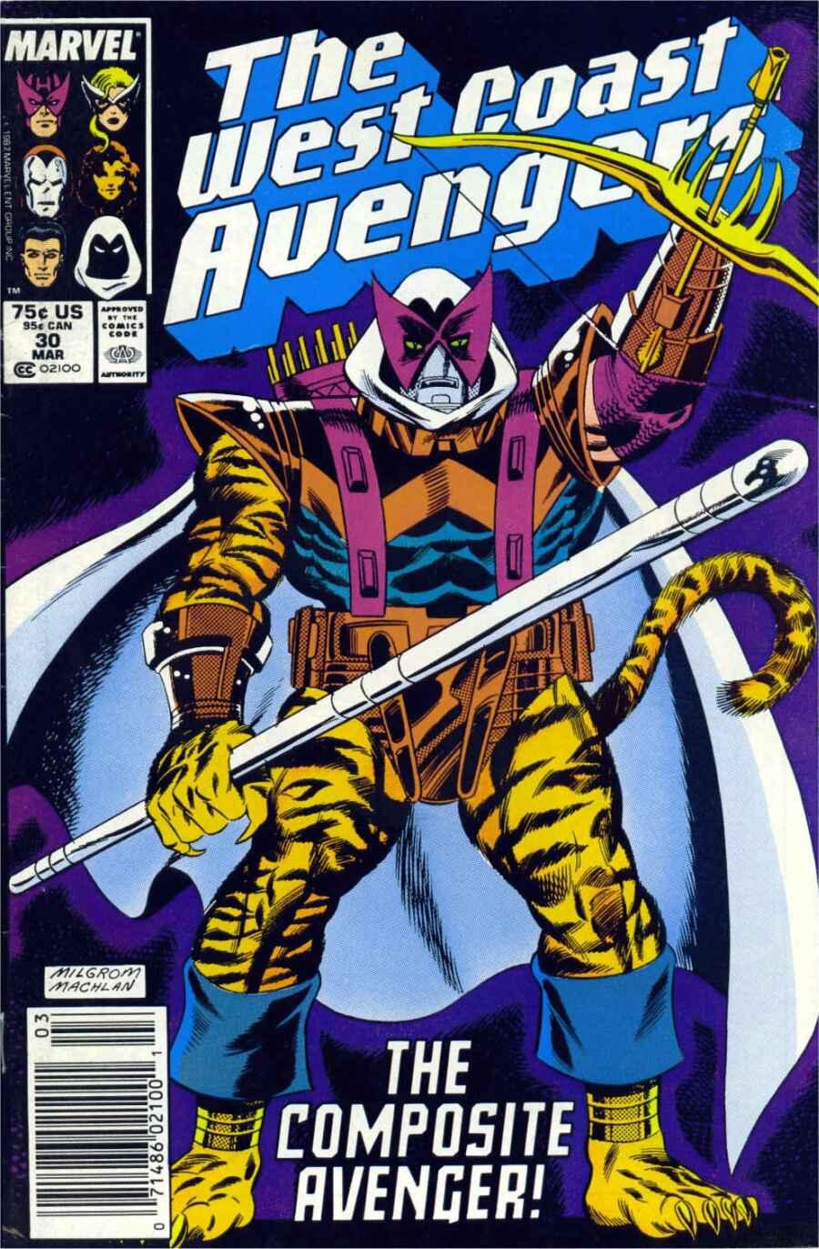 West Coast Avengers (1985) 30 Page 1