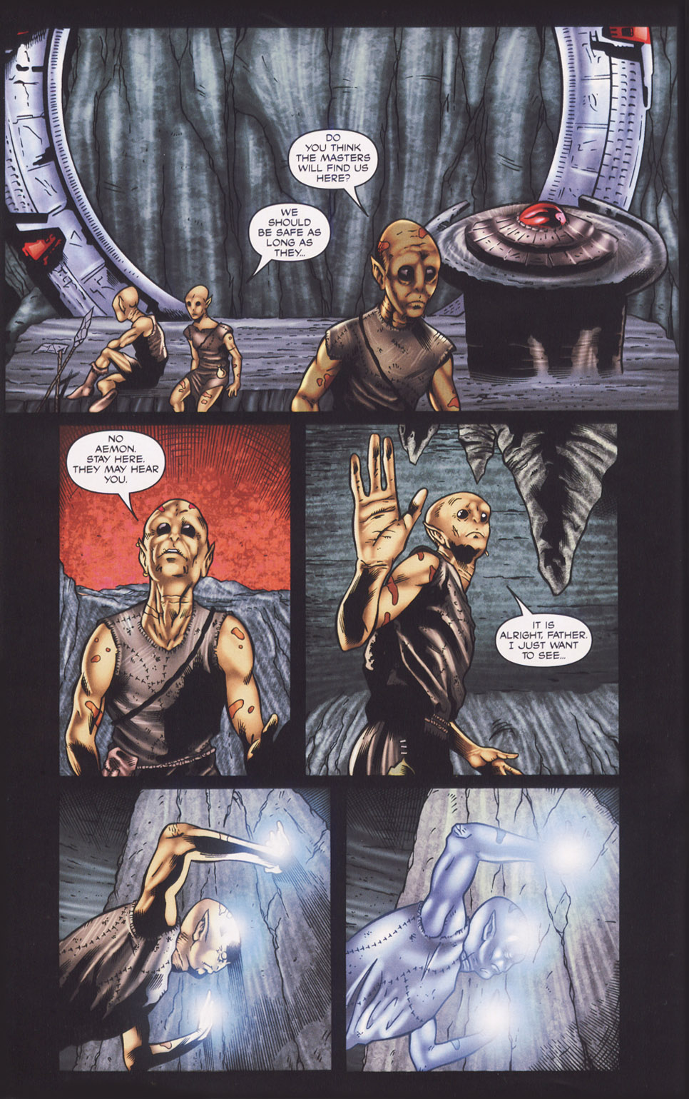 Read online Stargate SG-1: Fall of Rome comic -  Issue #1 - 6