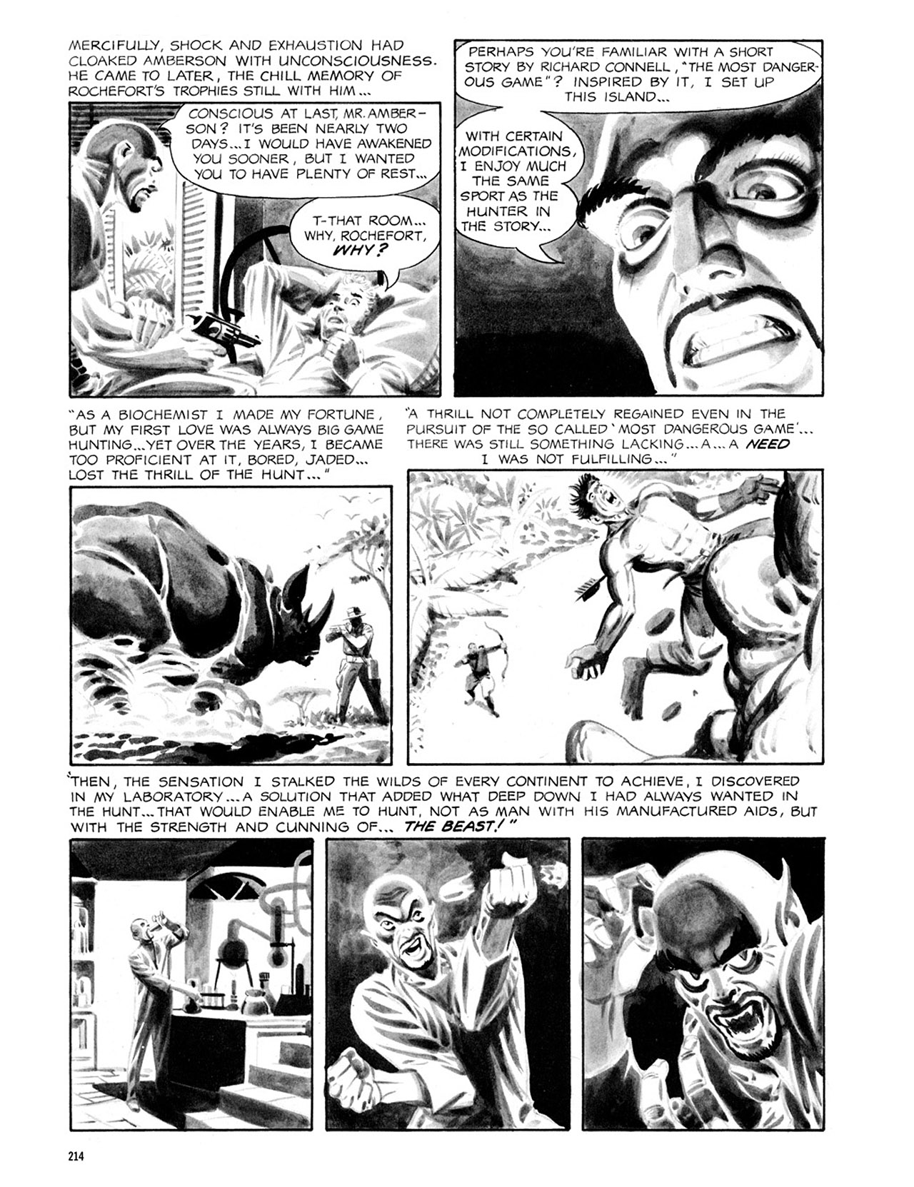 Read online Eerie Archives comic -  Issue # TPB 2 - 215