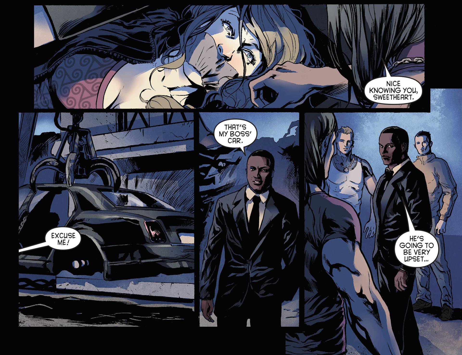 Read online Arrow [II] comic -  Issue #21 - 18