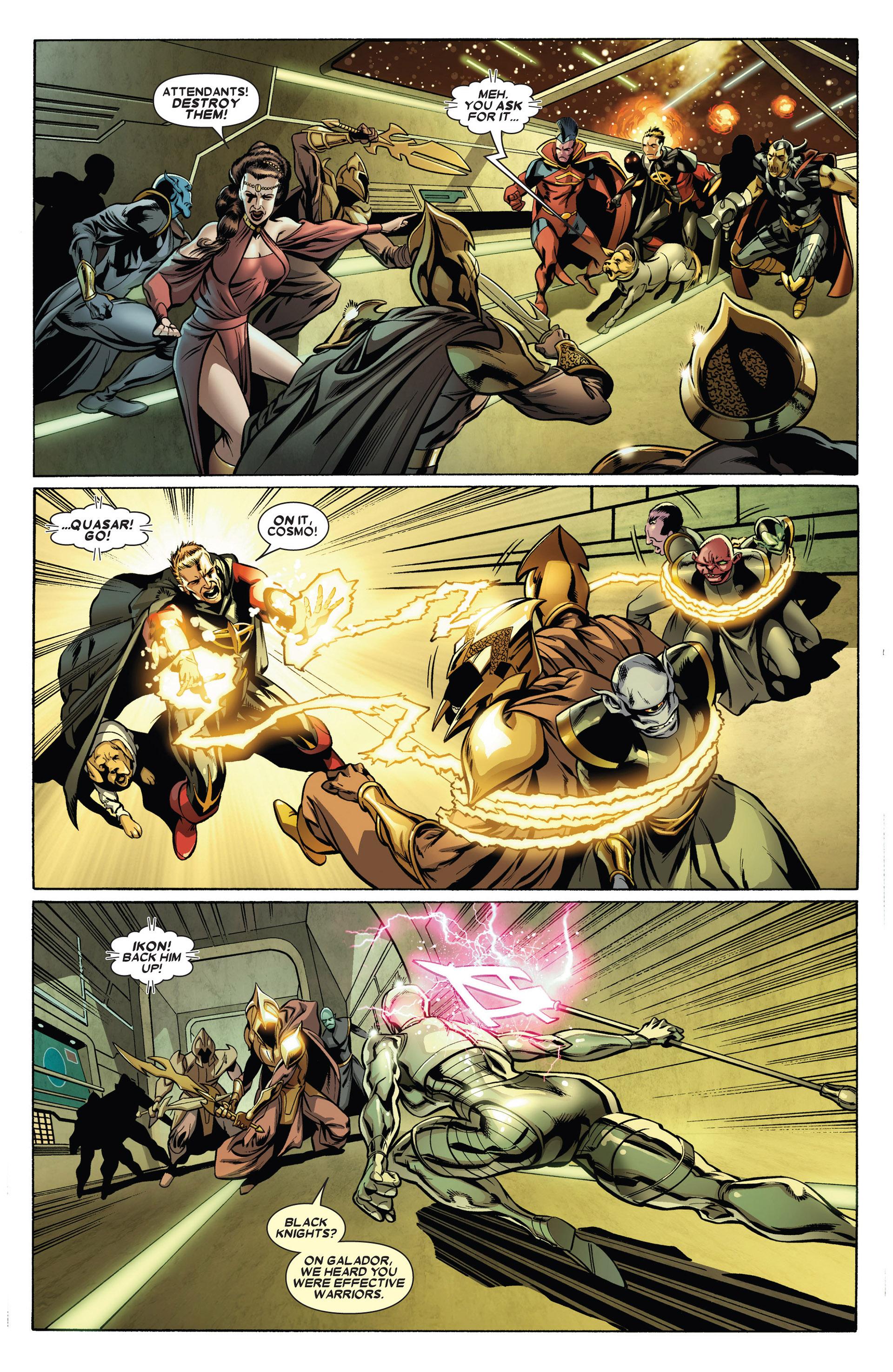 Read online Annihilators: Earthfall comic -  Issue #1 - 5