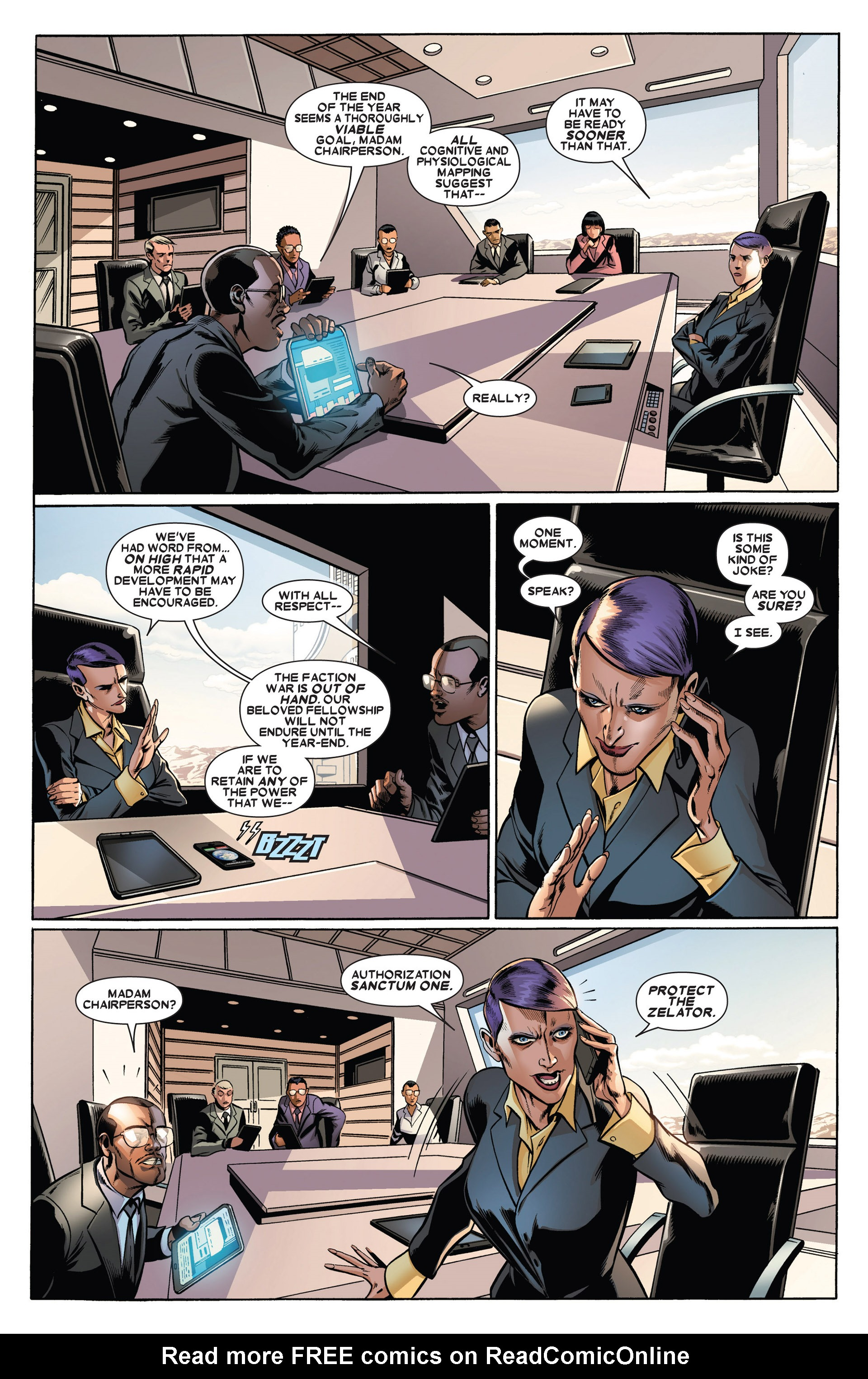 Read online Annihilators: Earthfall comic -  Issue #1 - 14