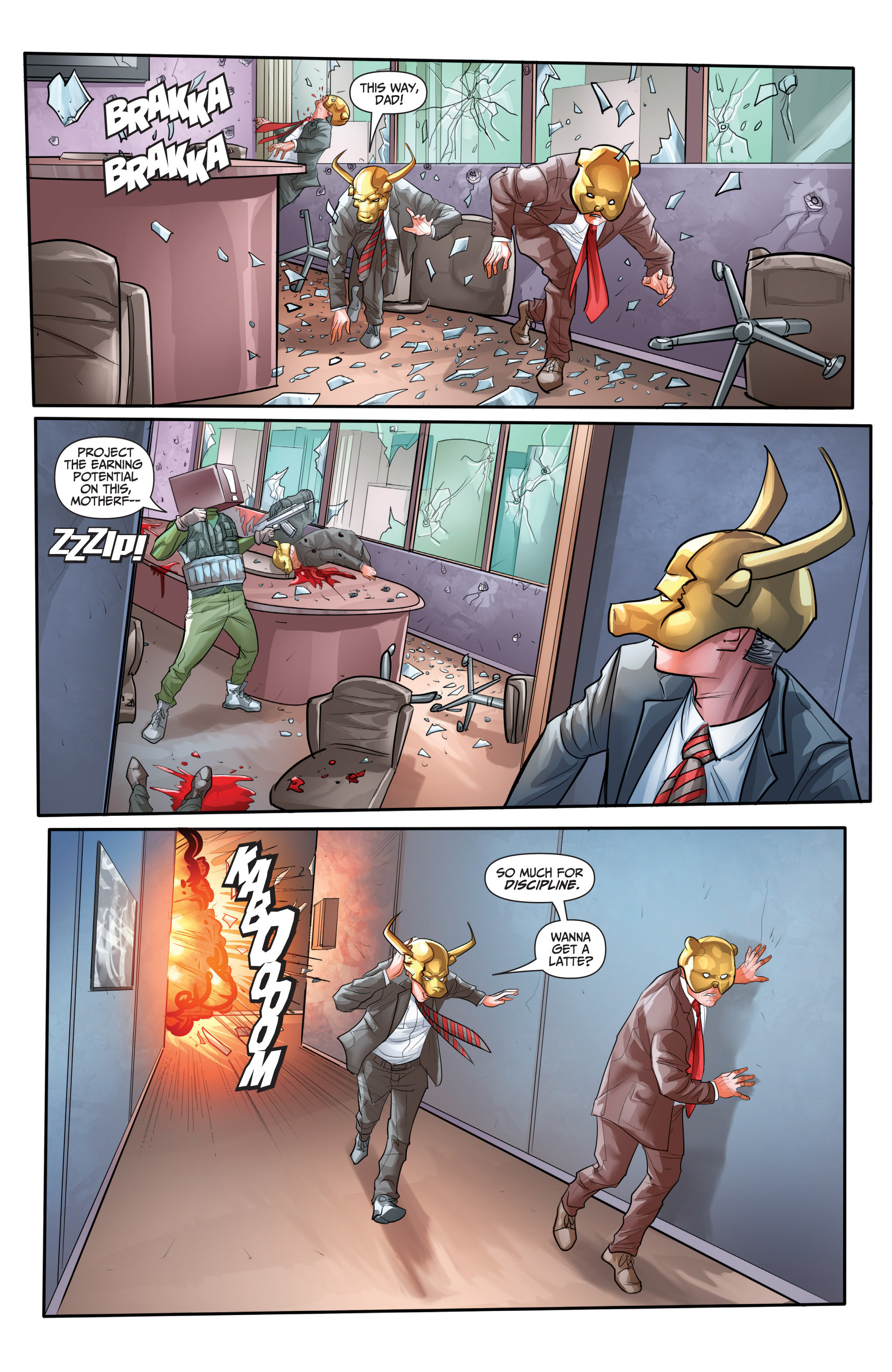 Read online Archer and Armstrong comic -  Issue #Archer and Armstrong _TPB 7 - 59