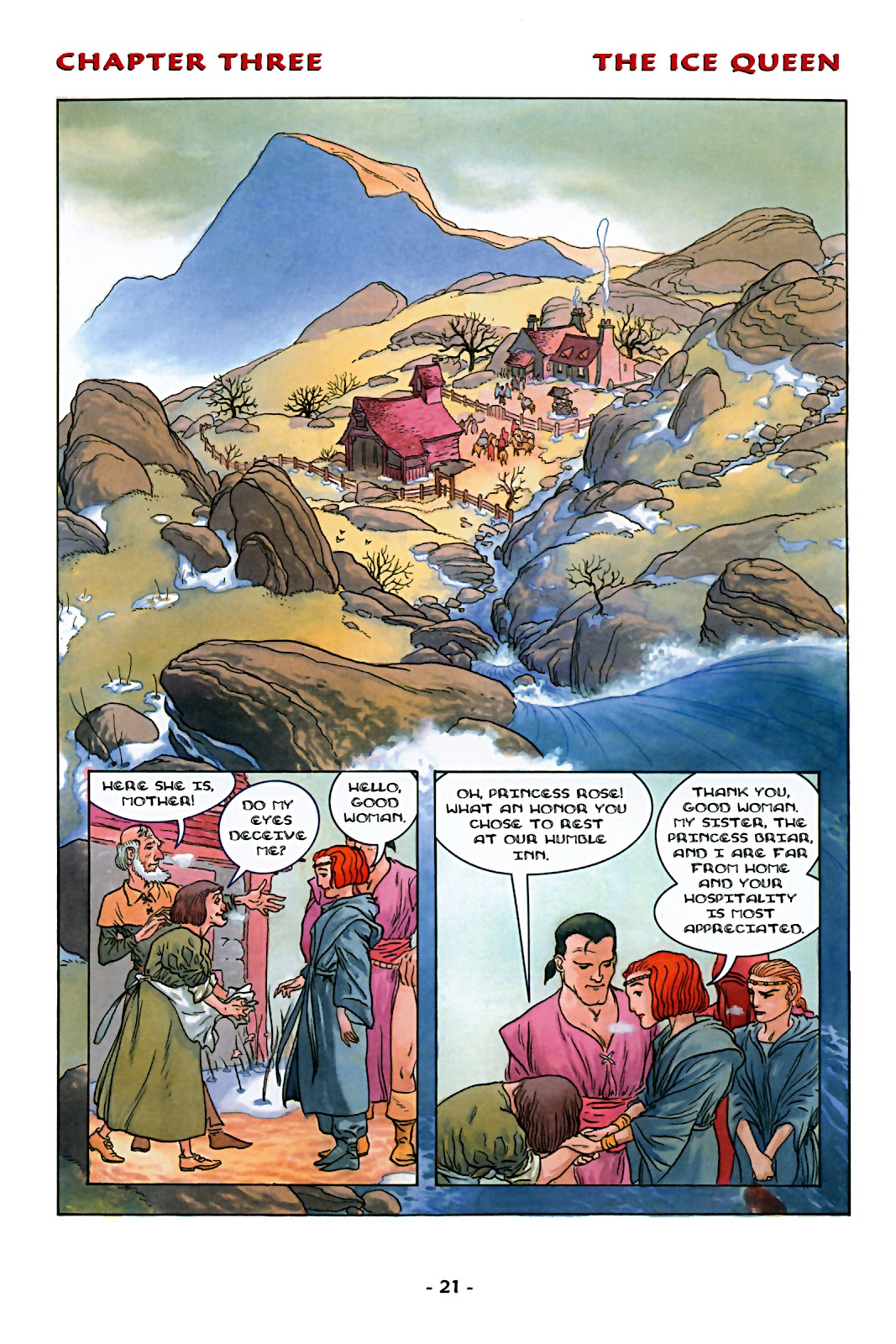 Read online Rose (2000) comic -  Issue # TPB - 27