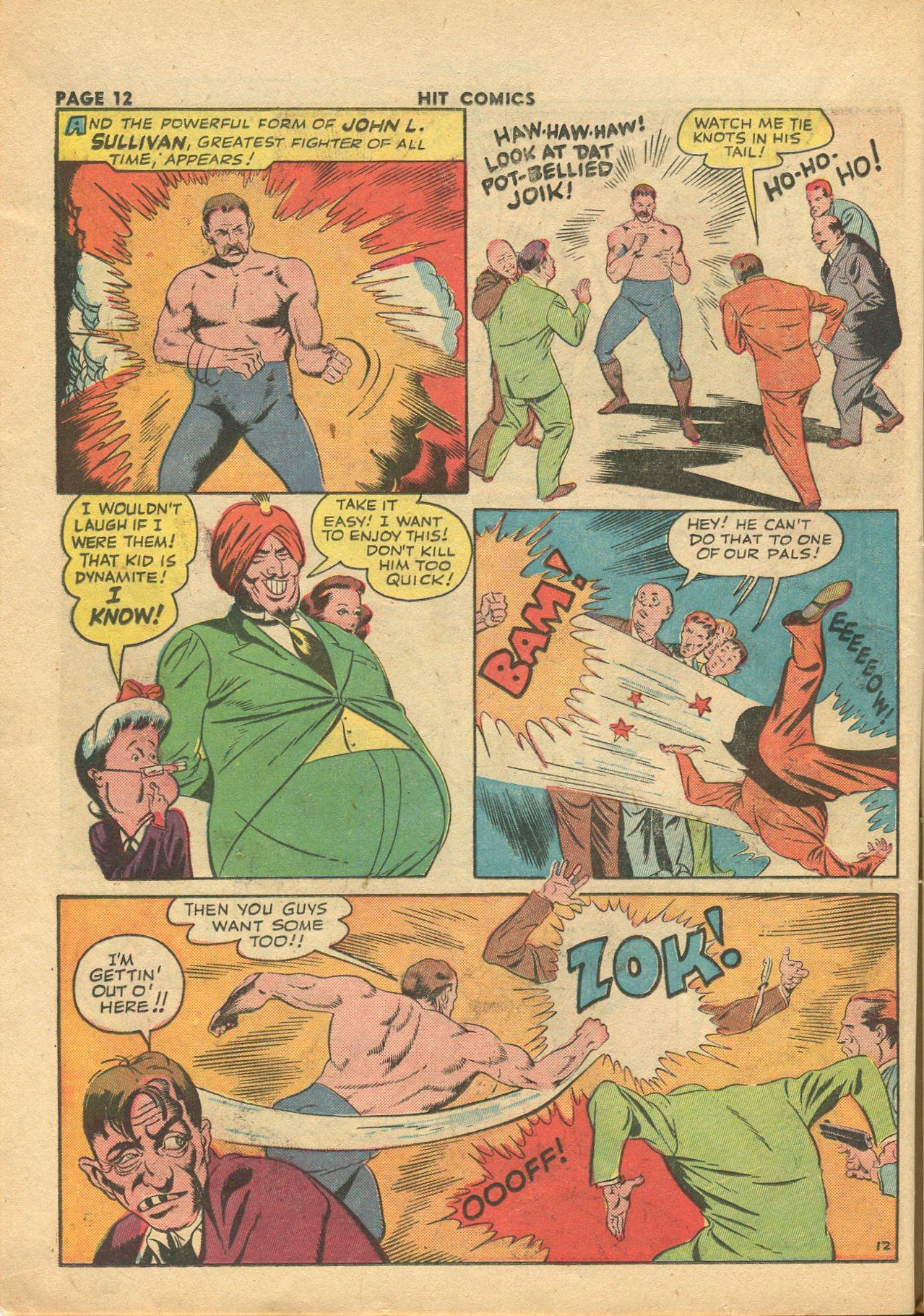Read online Hit Comics comic -  Issue #28 - 15