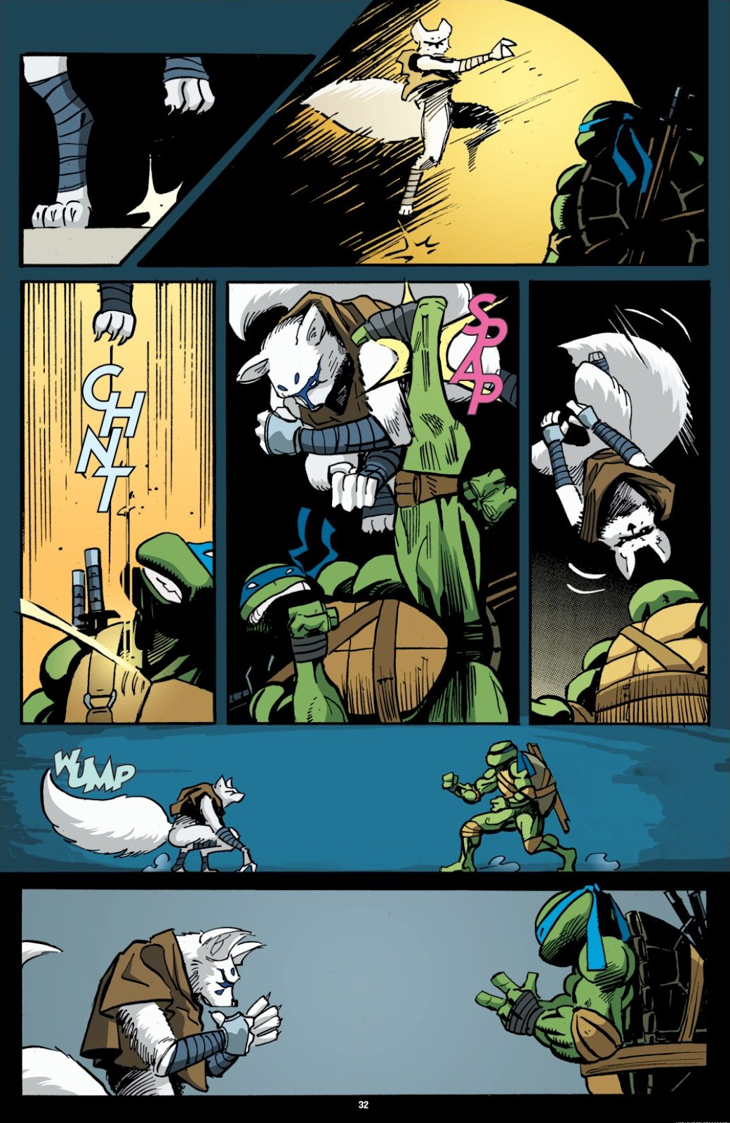 Read online Teenage Mutant Ninja Turtles: The IDW Collection comic -  Issue # TPB 7 (Part 1) - 32