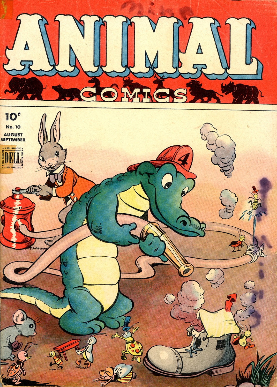 Read online Animal Comics comic -  Issue #10 - 2