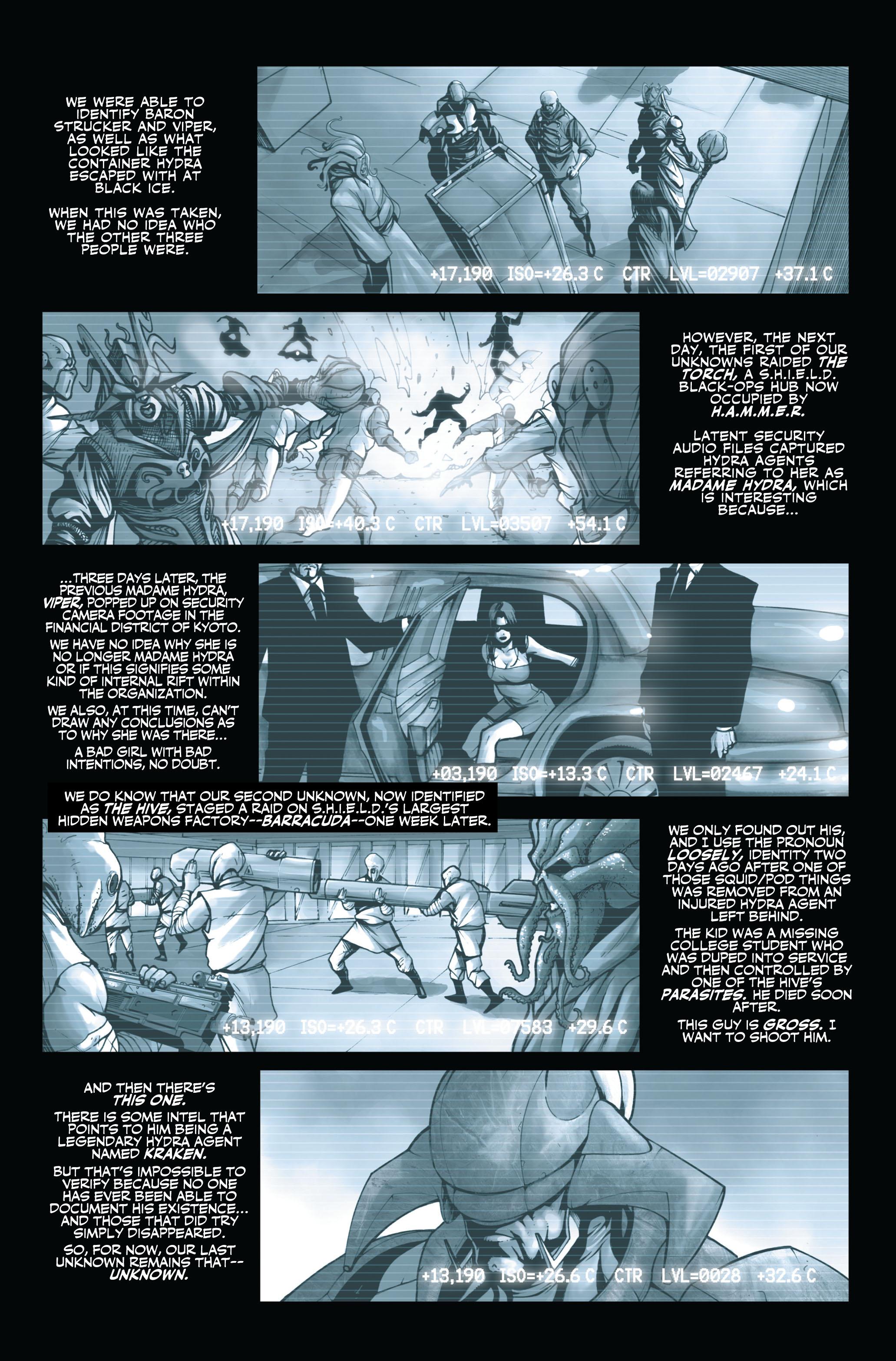 Read online Secret Warriors comic -  Issue #3 - 5