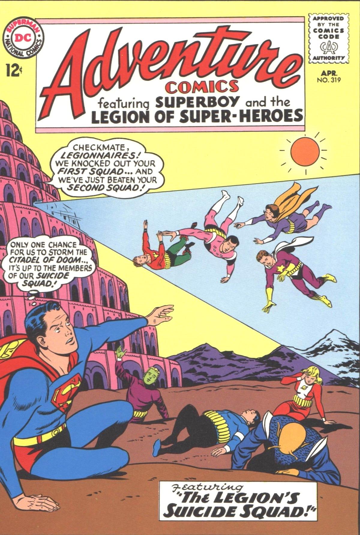 Read online Adventure Comics (1938) comic -  Issue #319 - 1