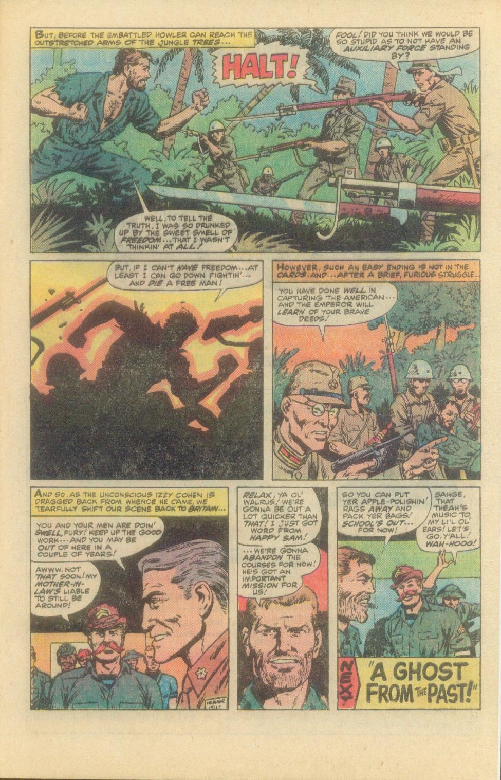Read online Sgt. Fury comic -  Issue #149 - 33