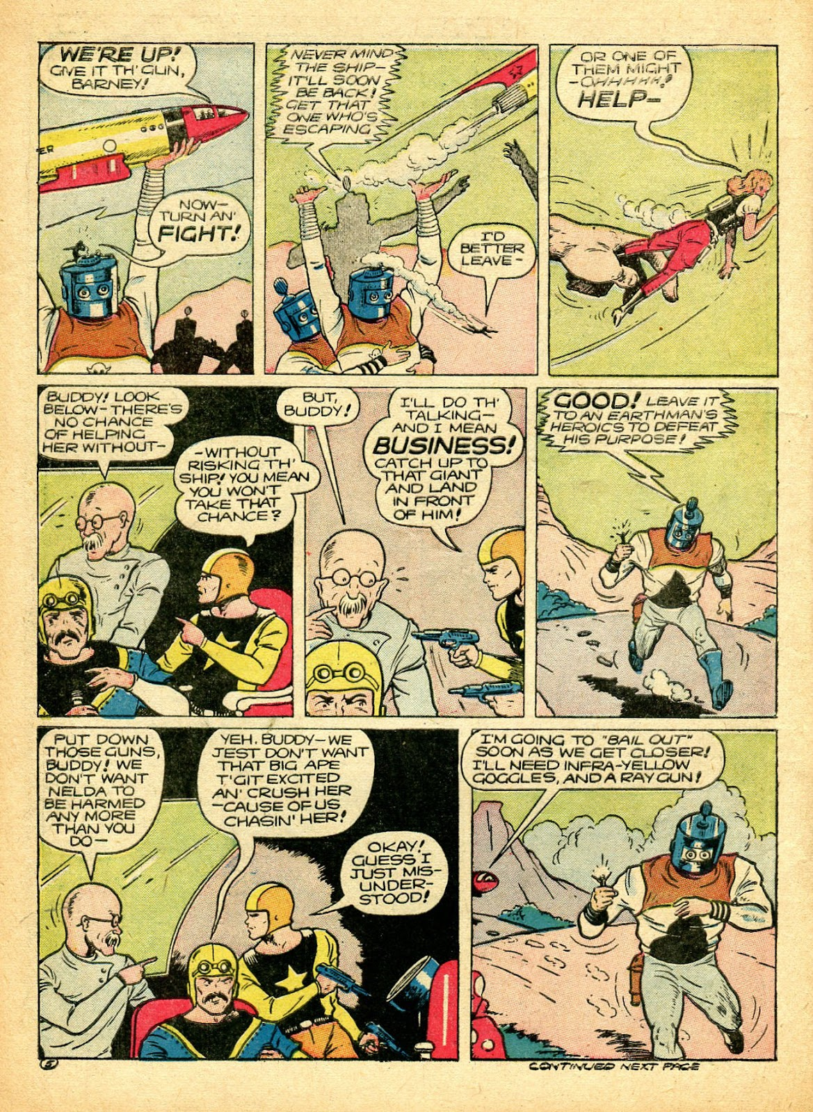 Read online Famous Funnies comic -  Issue #94 - 8