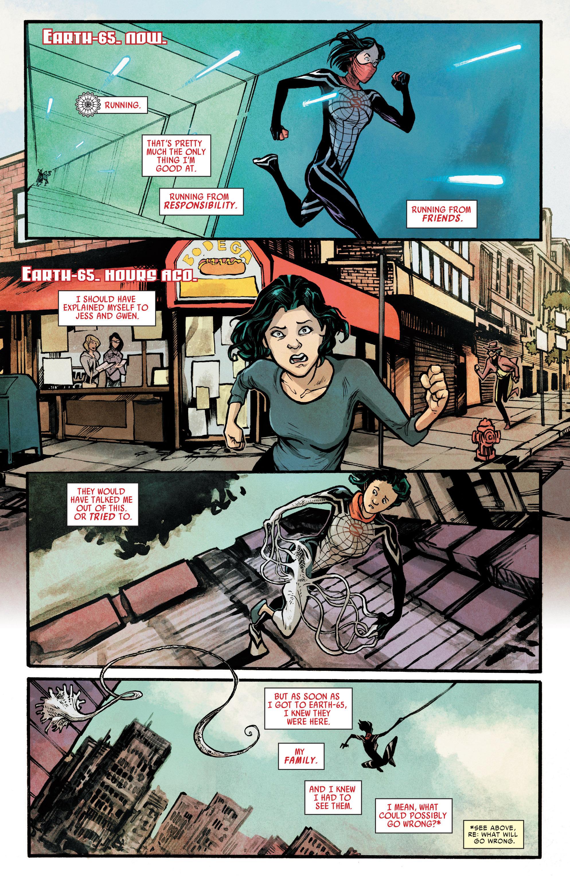 Read online Silk (2016) comic -  Issue #7 - 6