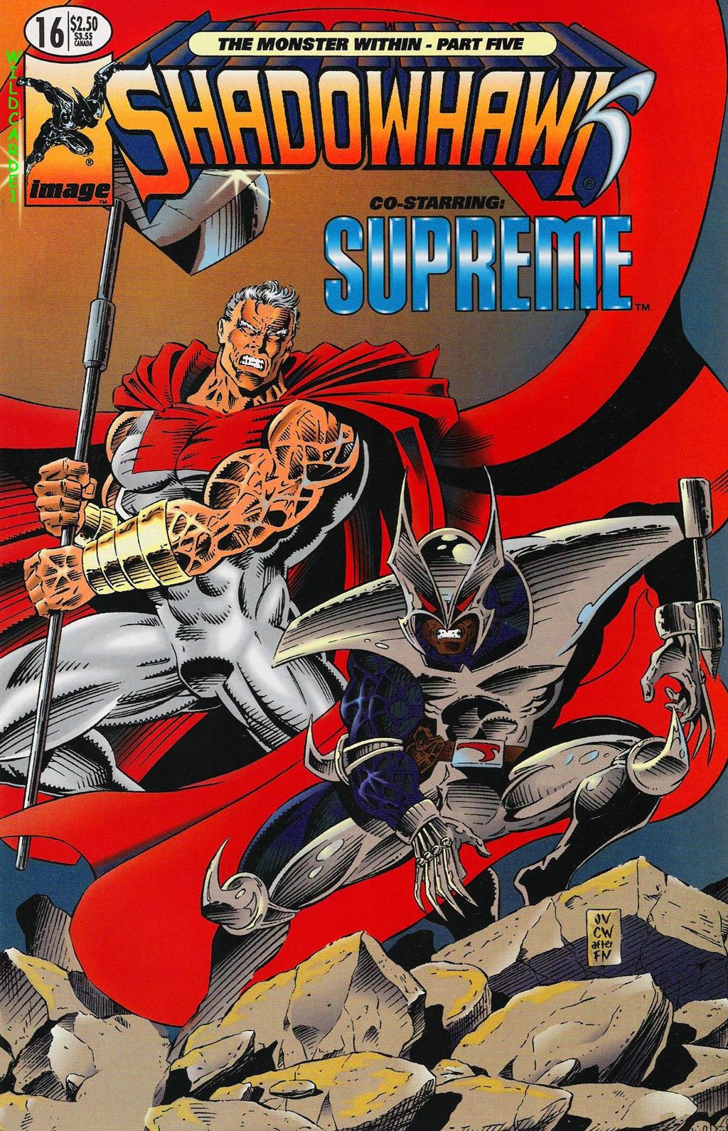 Read online ShadowHawk comic -  Issue #16 - 1